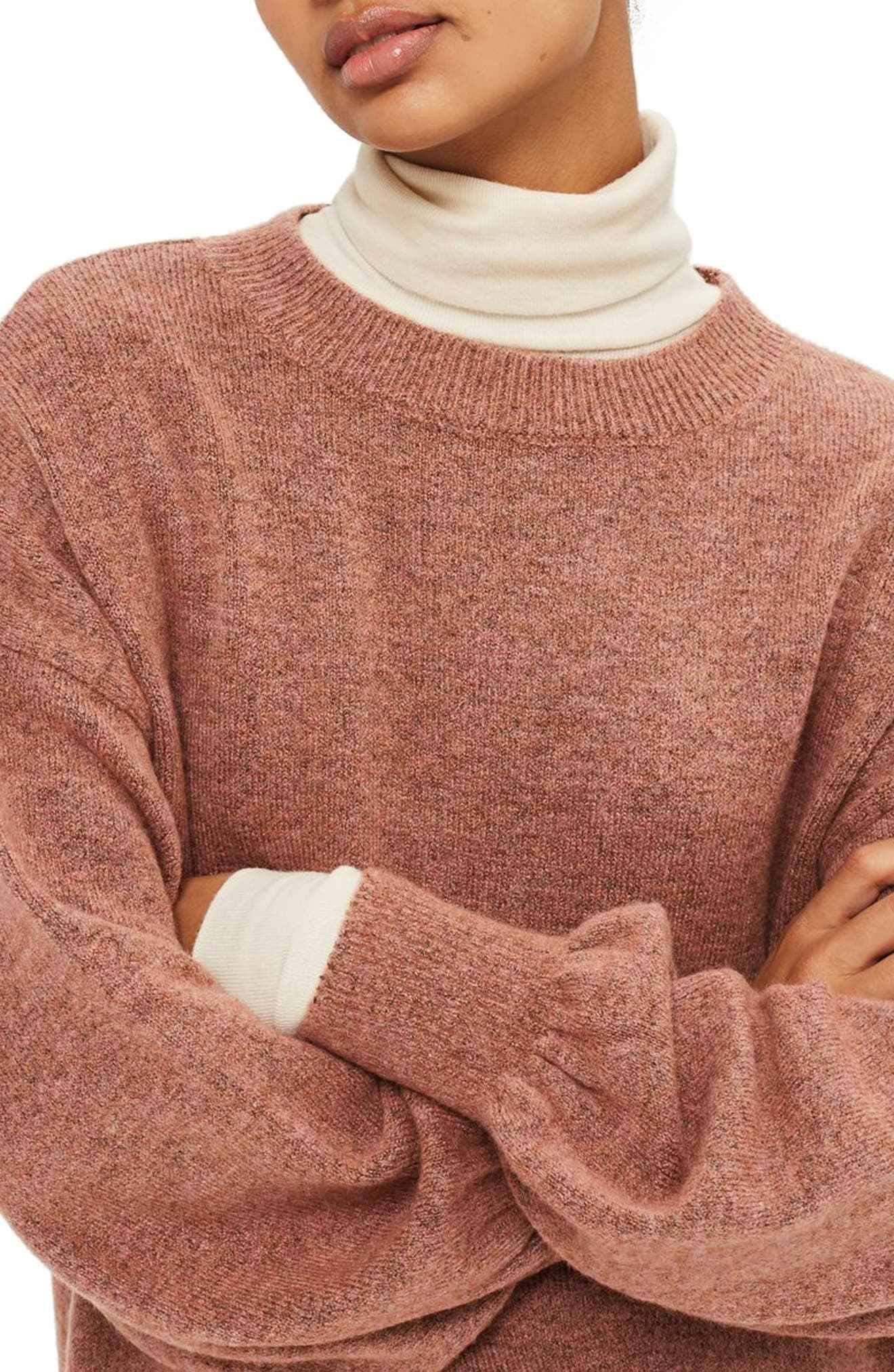Sweater Dress,                             Alternate thumbnail 6, color,