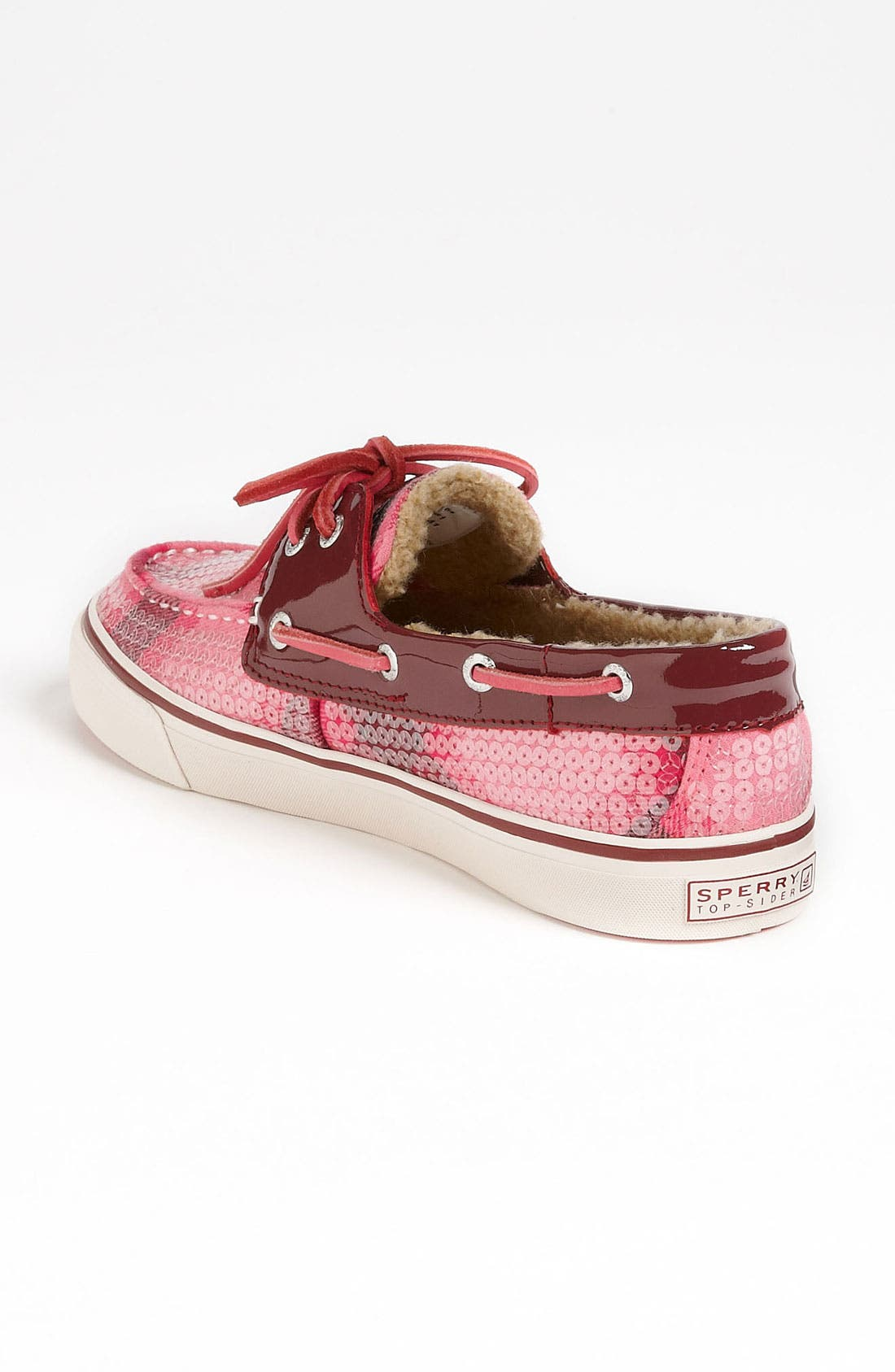 Top-Sider<sup>®</sup> 'Bahama' Sequined Boat Shoe,                             Alternate thumbnail 121, color,