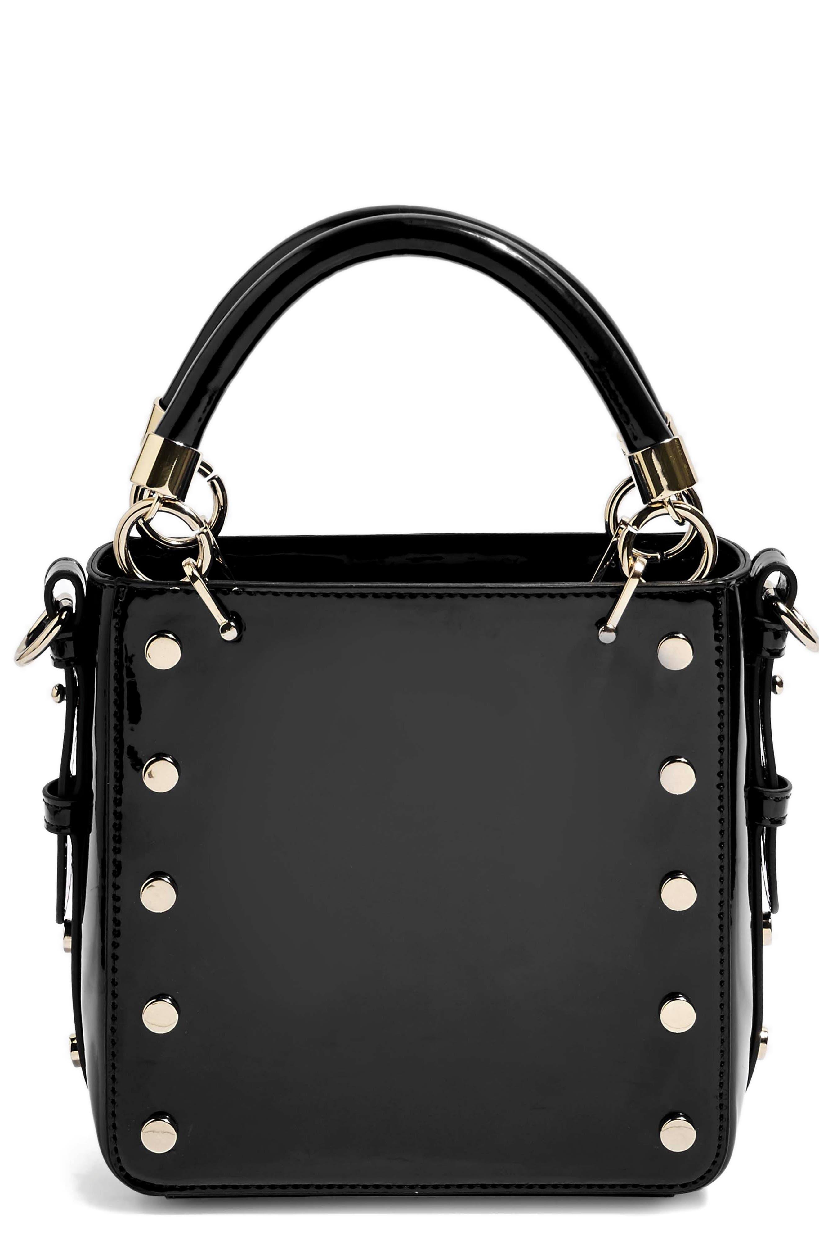 Courtney Studded Crossbody Bag,                             Main thumbnail 1, color,                             BLACK MULTI