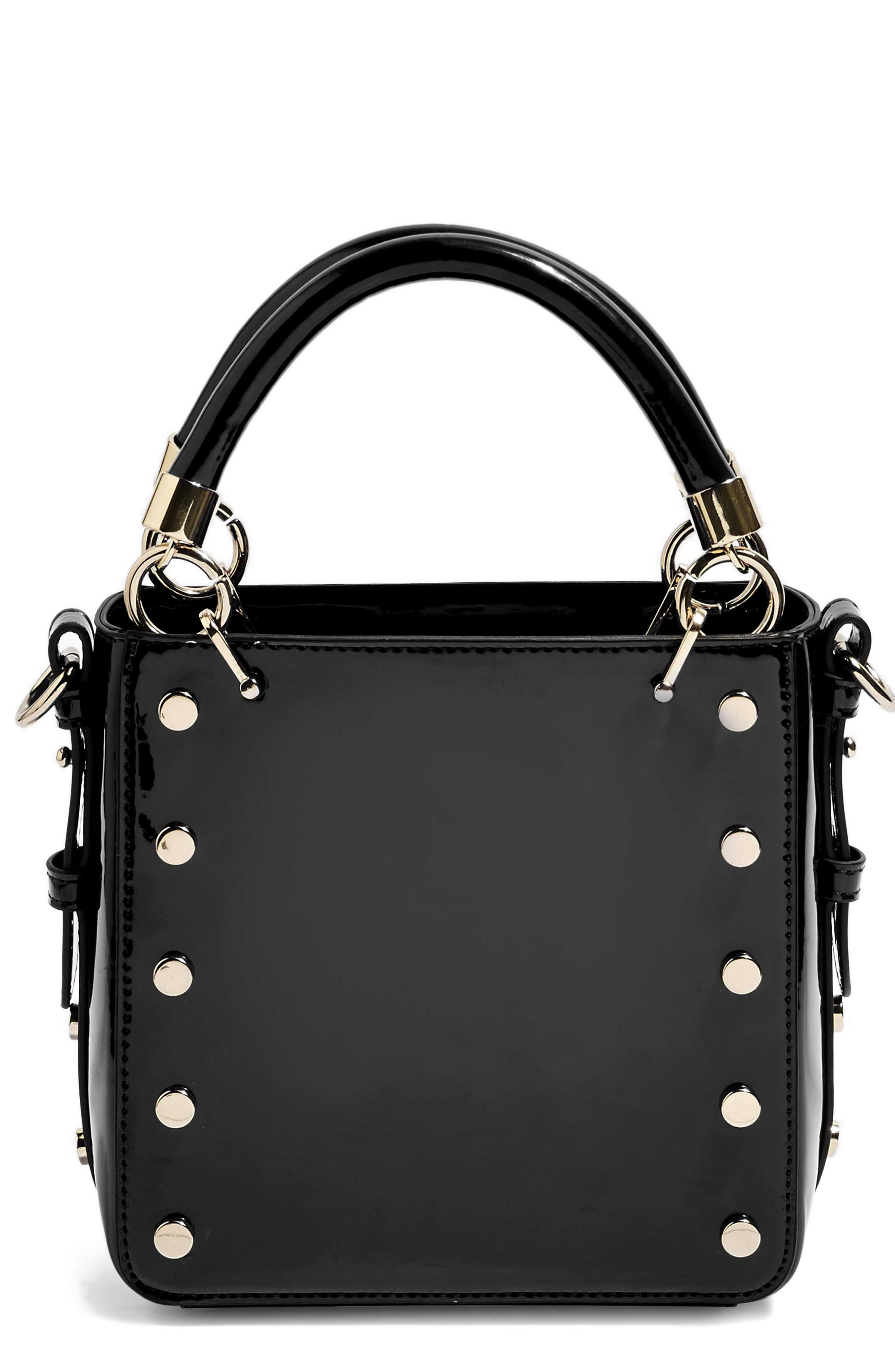Courtney Studded Crossbody Bag, Main, color, BLACK MULTI