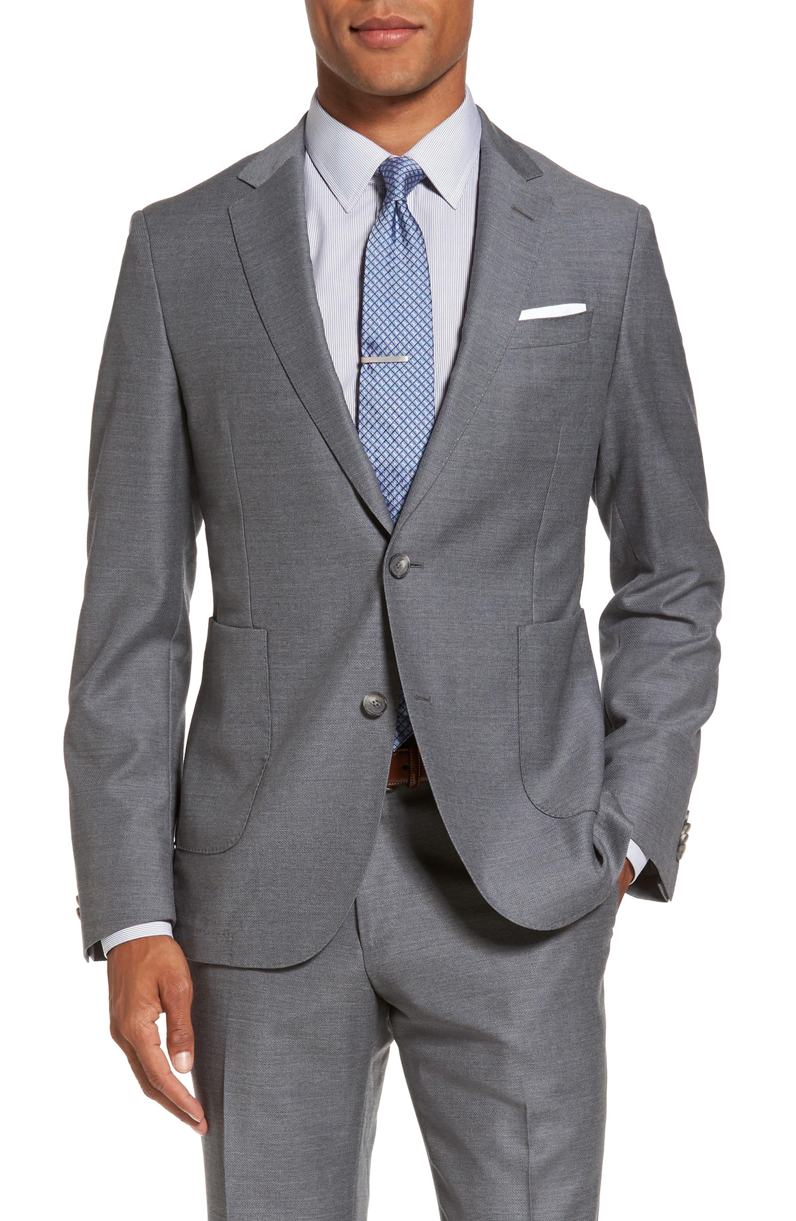 Novan/Ben Classic Fit Suit,                             Alternate thumbnail 5, color,