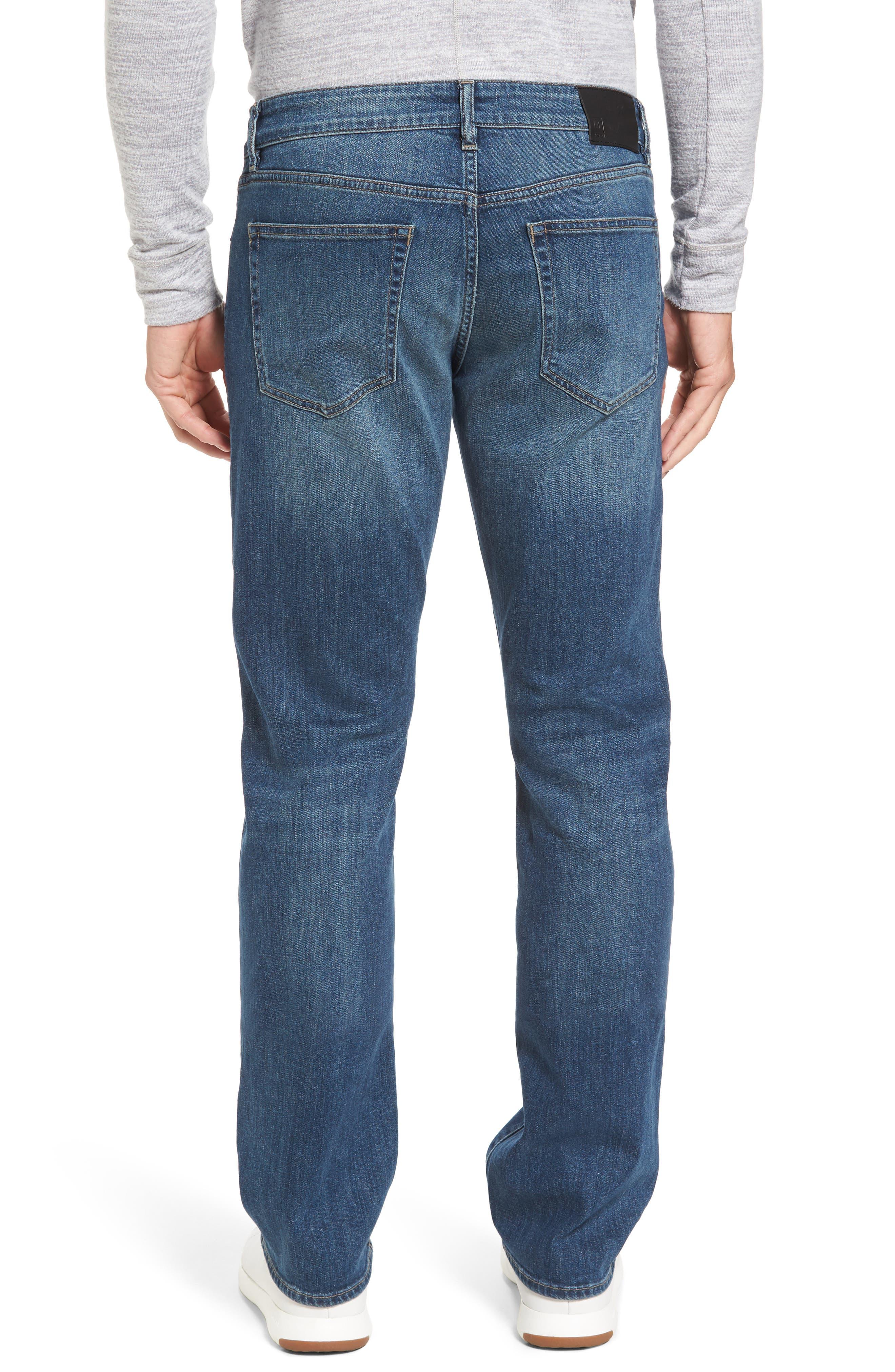 Avery Slim Straight Leg Jeans,                             Alternate thumbnail 2, color,