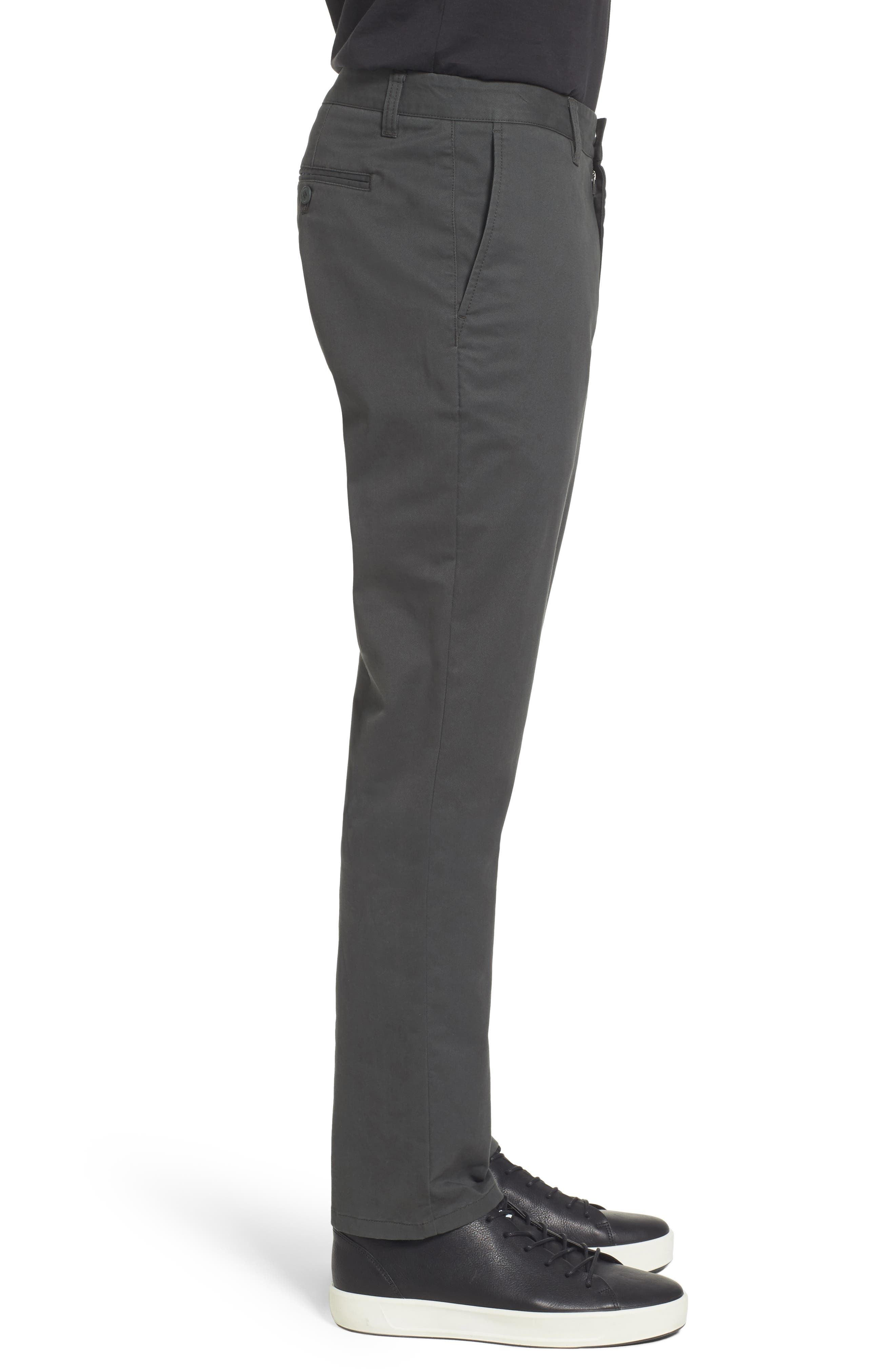 Tailored Fit Washed Stretch Cotton Chinos,                             Alternate thumbnail 79, color,