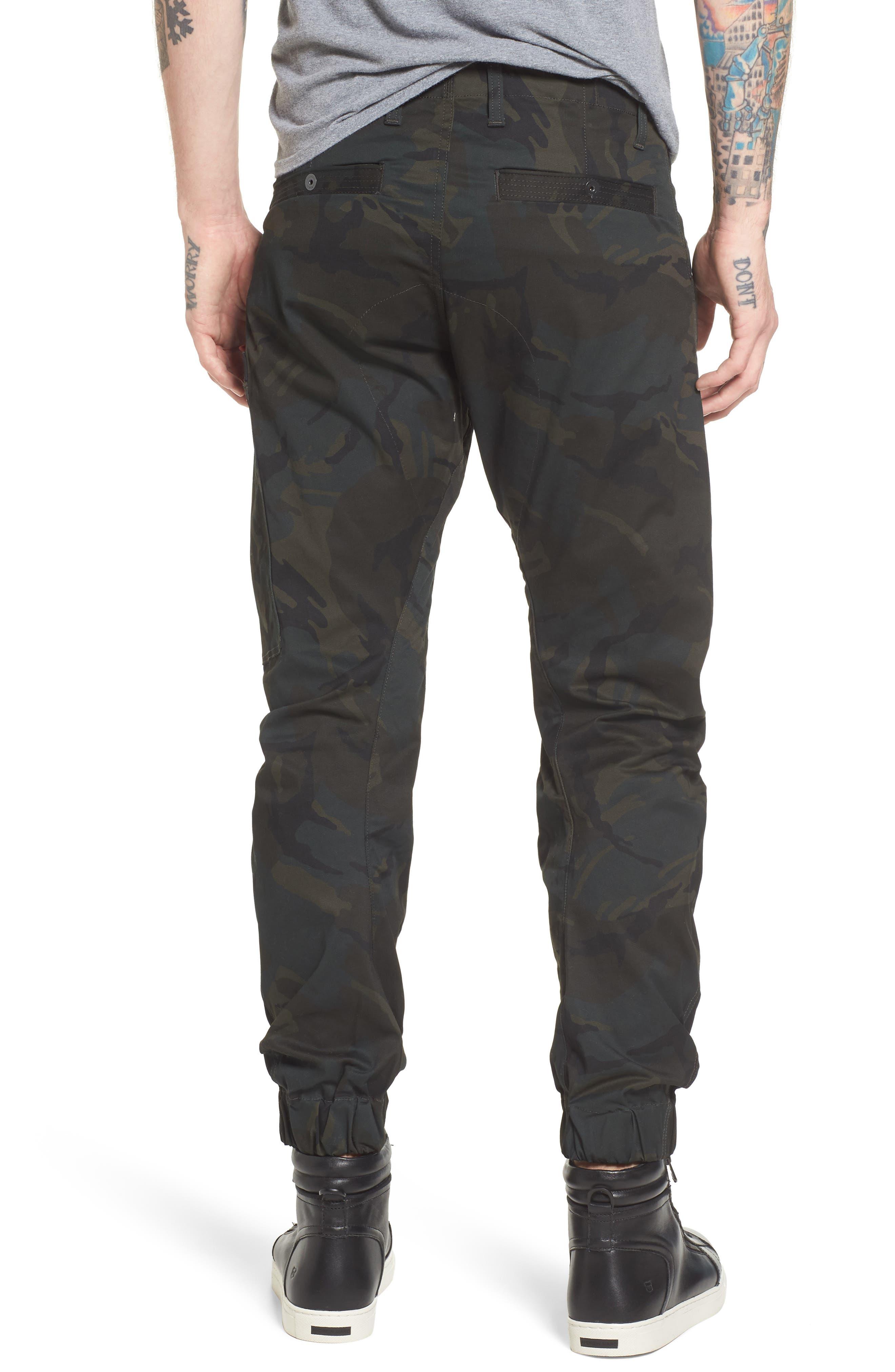Powel 3D Tapered Jogger Pants,                             Alternate thumbnail 2, color,                             020