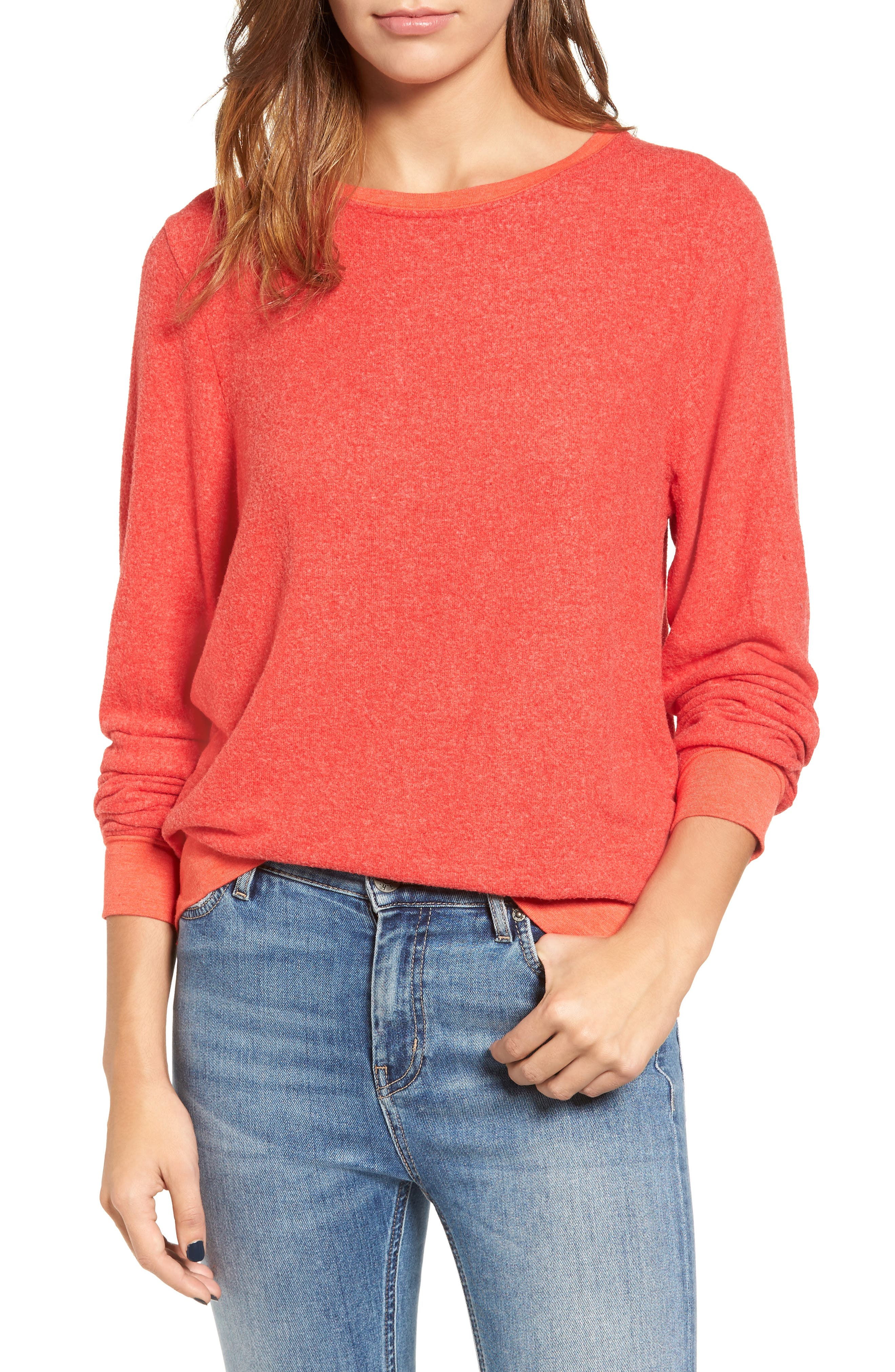 'Baggy Beach Jumper' Pullover,                             Main thumbnail 38, color,