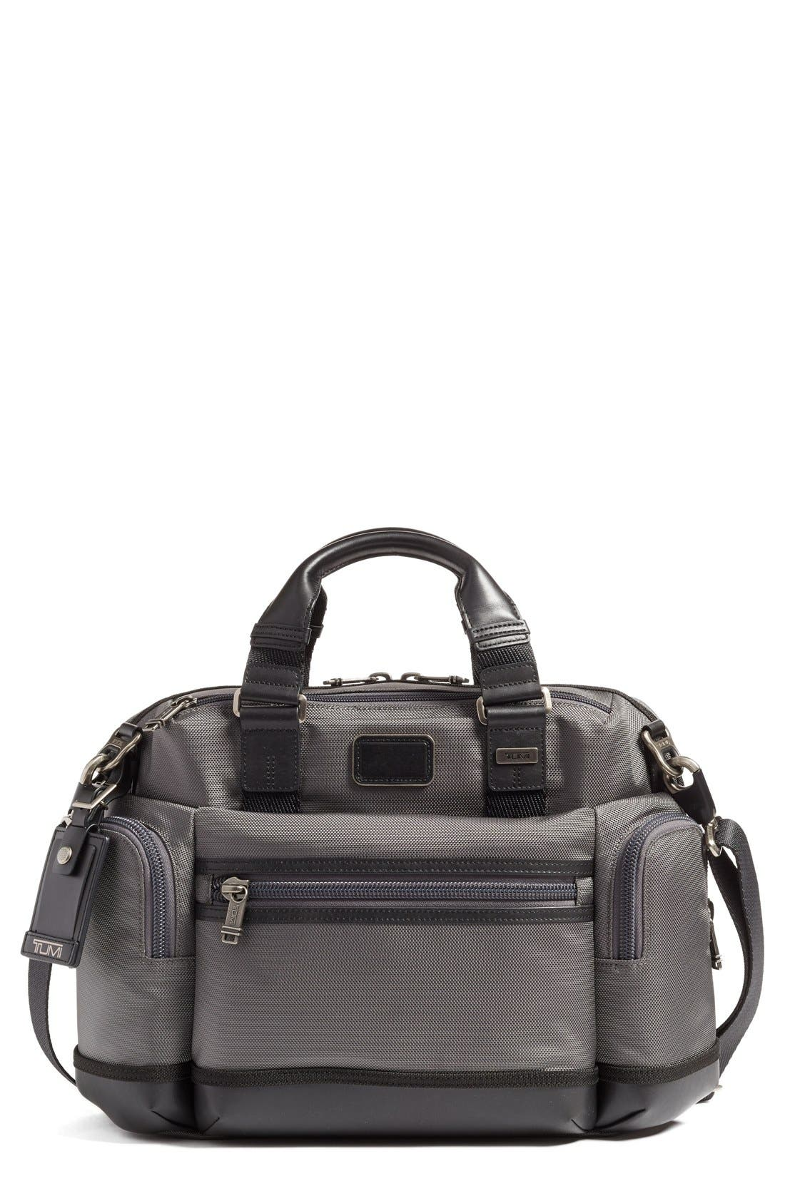 'Alpha Bravo - Brooks' Slim Briefcase, Main, color, 034