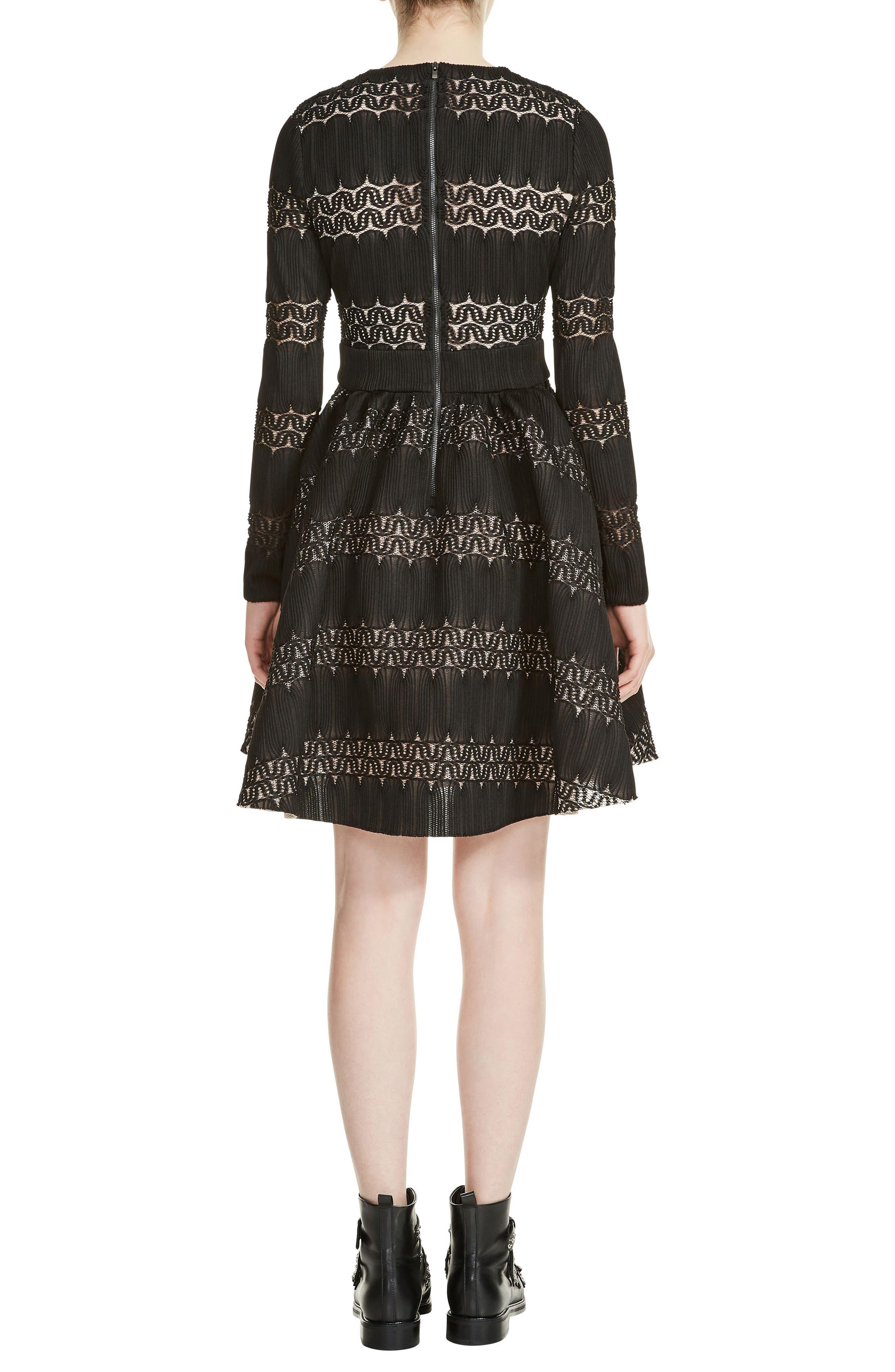 Relane Fit & Flare Dress,                             Alternate thumbnail 2, color,                             001