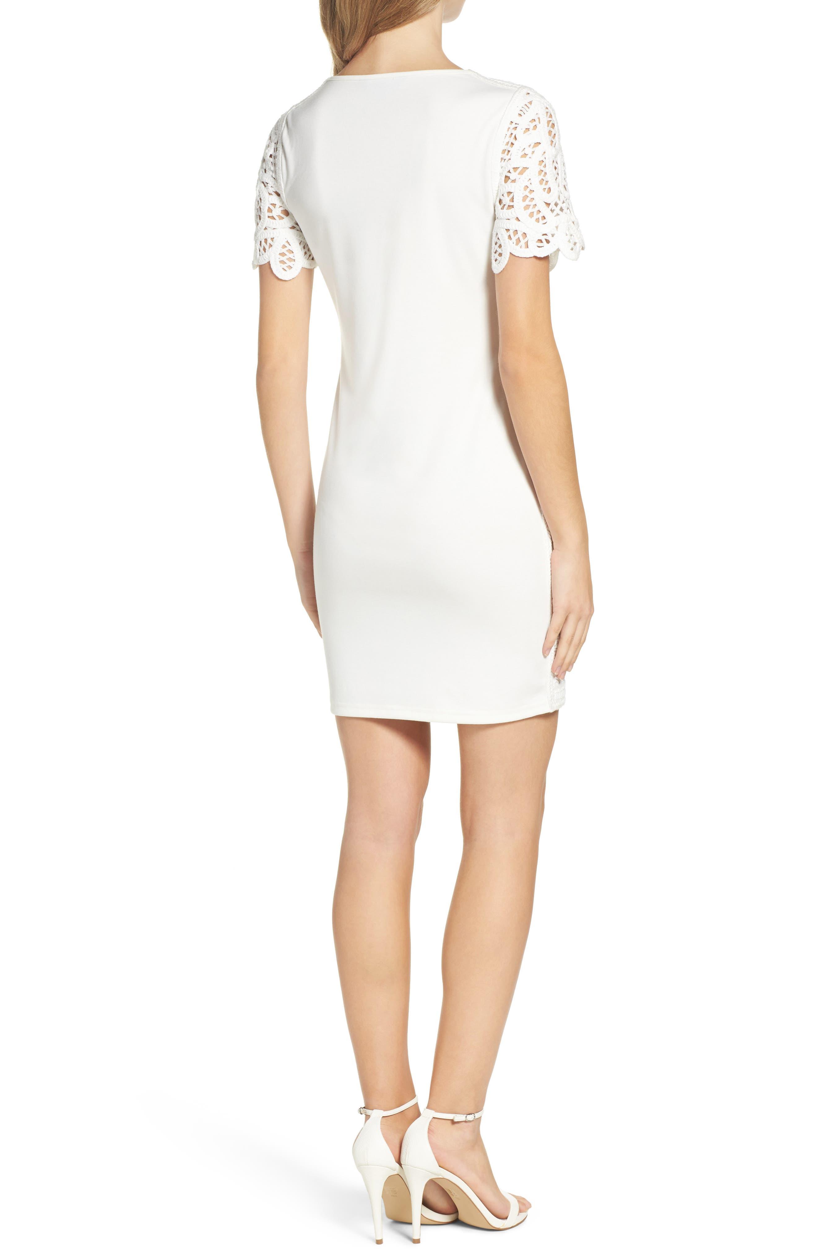 Mesi Lace Dress,                             Alternate thumbnail 2, color,                             101