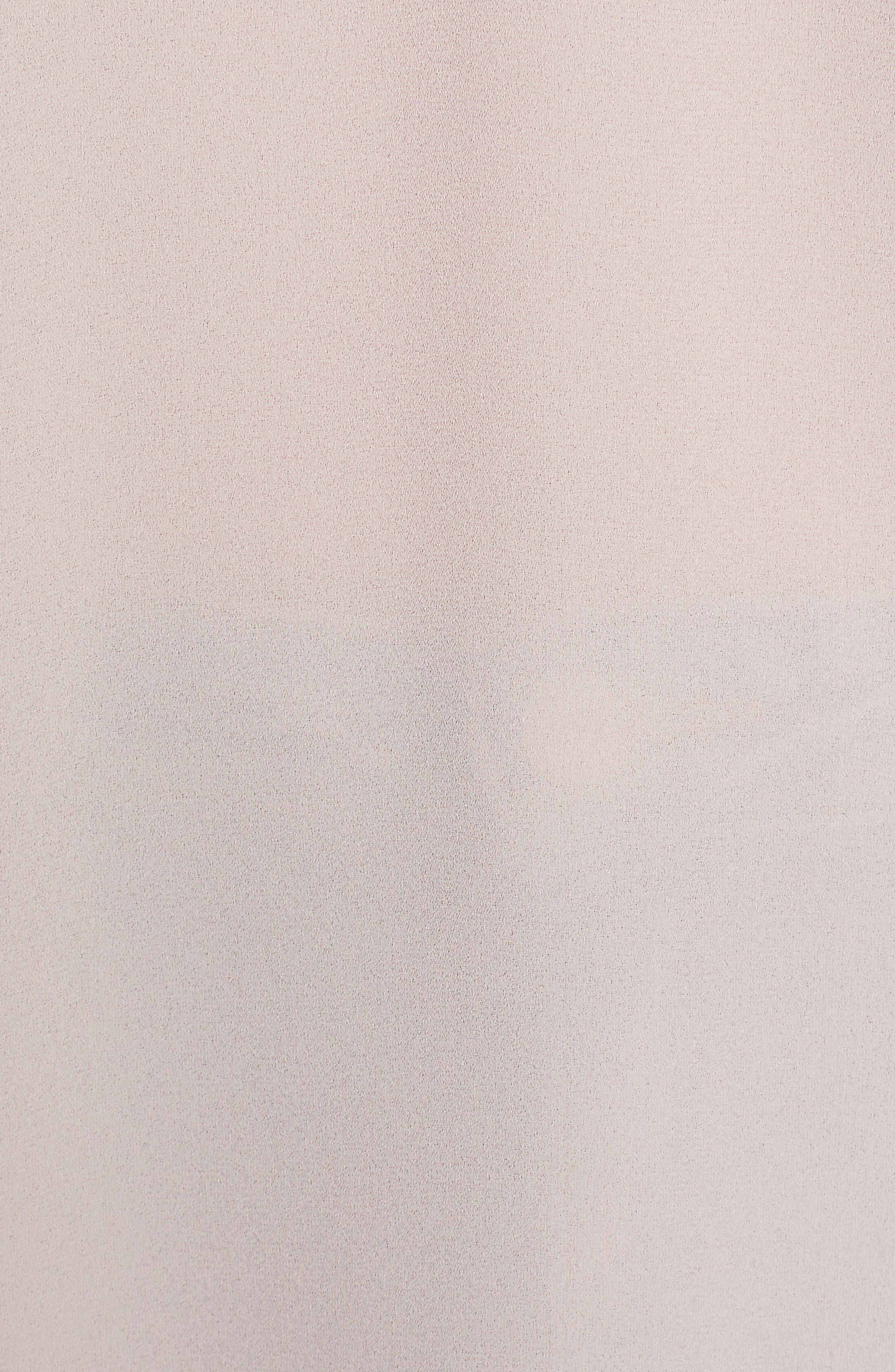 Perfect Roll Tab Sleeve Tunic,                             Alternate thumbnail 5, color,                             SHADOW BLUSH