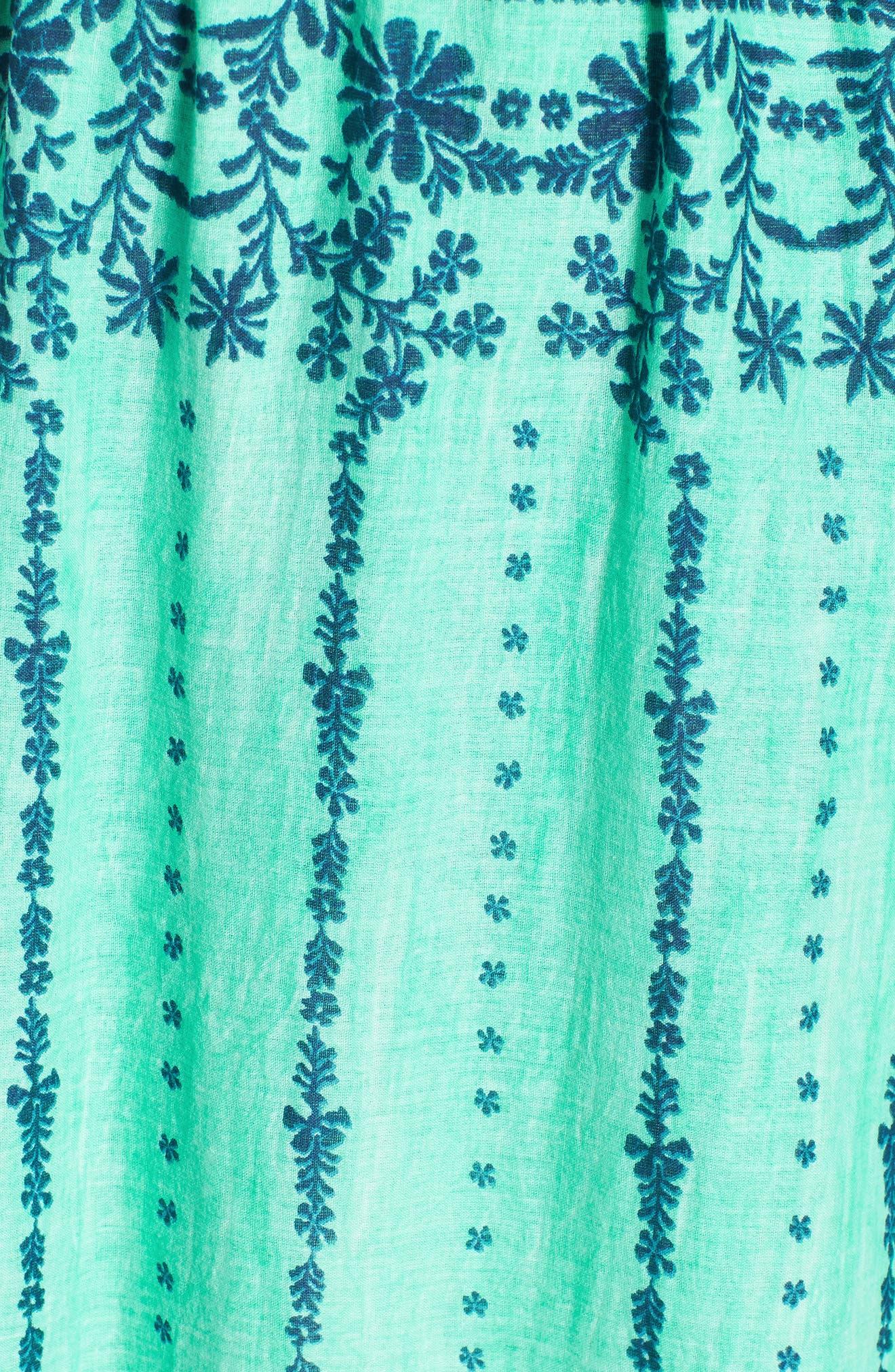 La Playita Maxi Dress,                             Alternate thumbnail 6, color,                             300