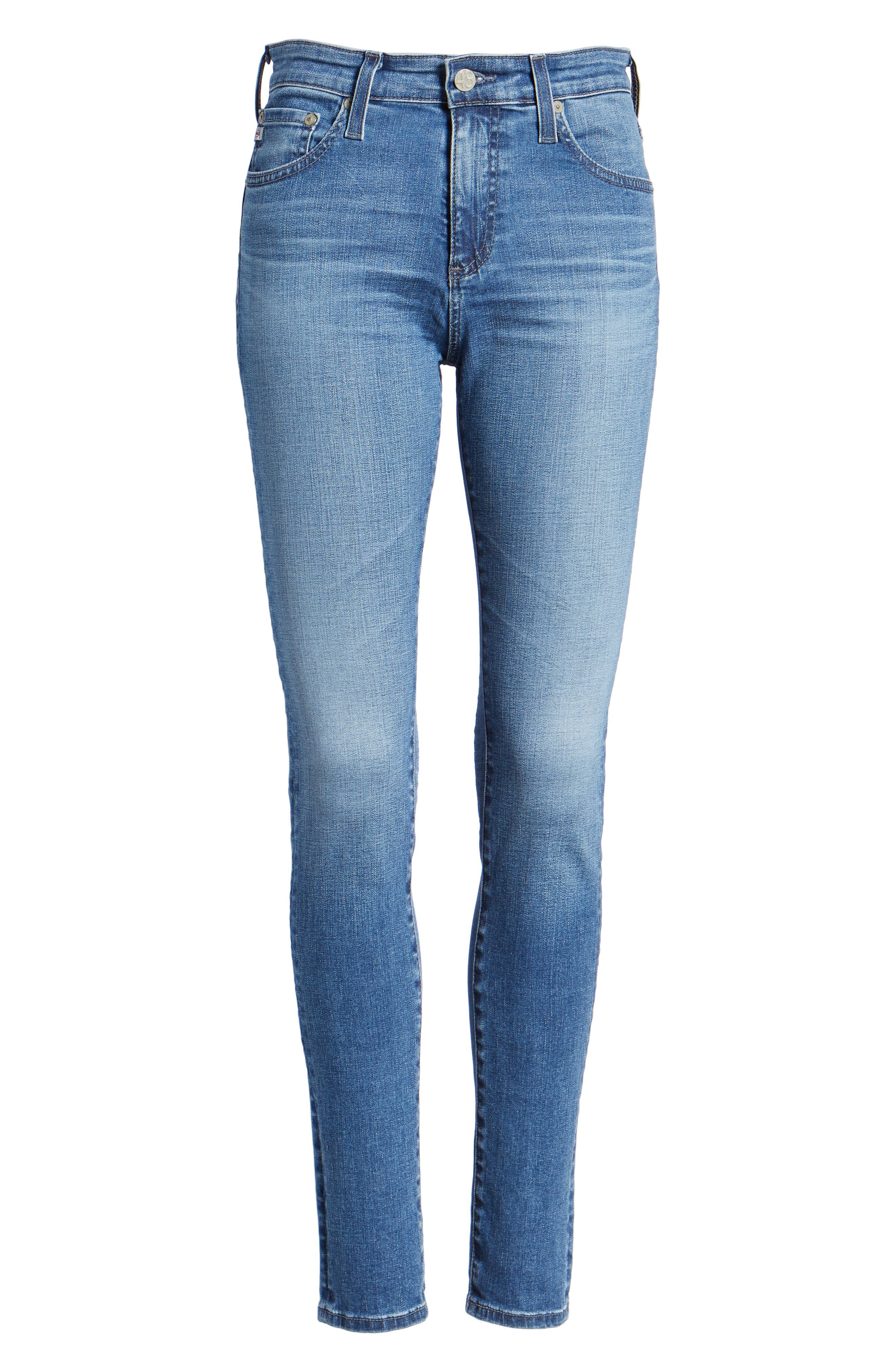 'The Farrah' High Rise Skinny Jeans,                             Alternate thumbnail 53, color,