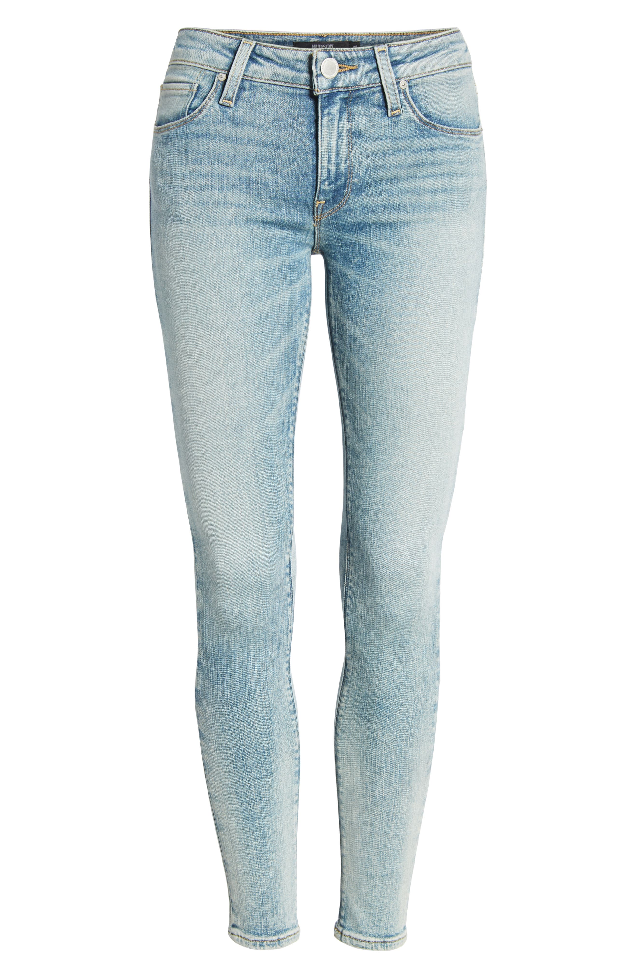 Krista Ankle Super Skinny Jeans,                             Alternate thumbnail 7, color,                             438