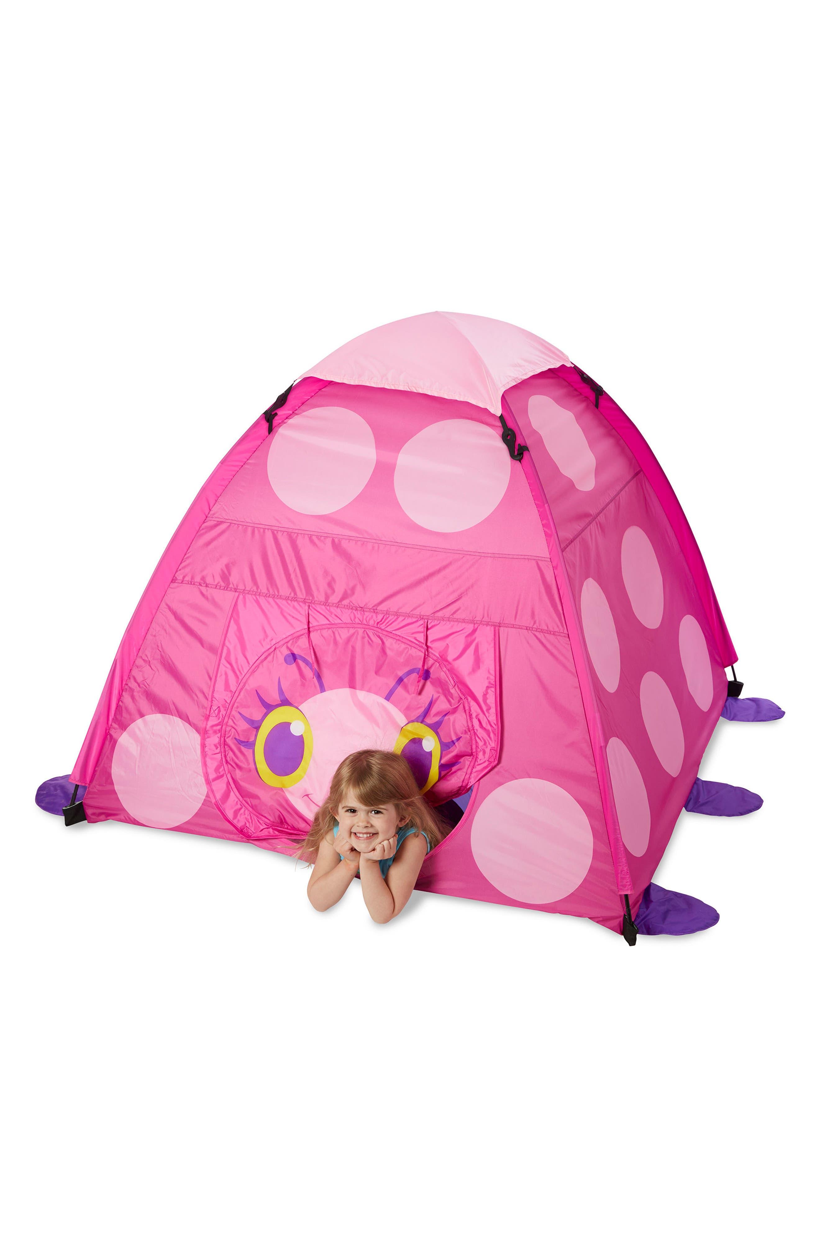 Trixie Ladybug Tent,                             Alternate thumbnail 4, color,                             650