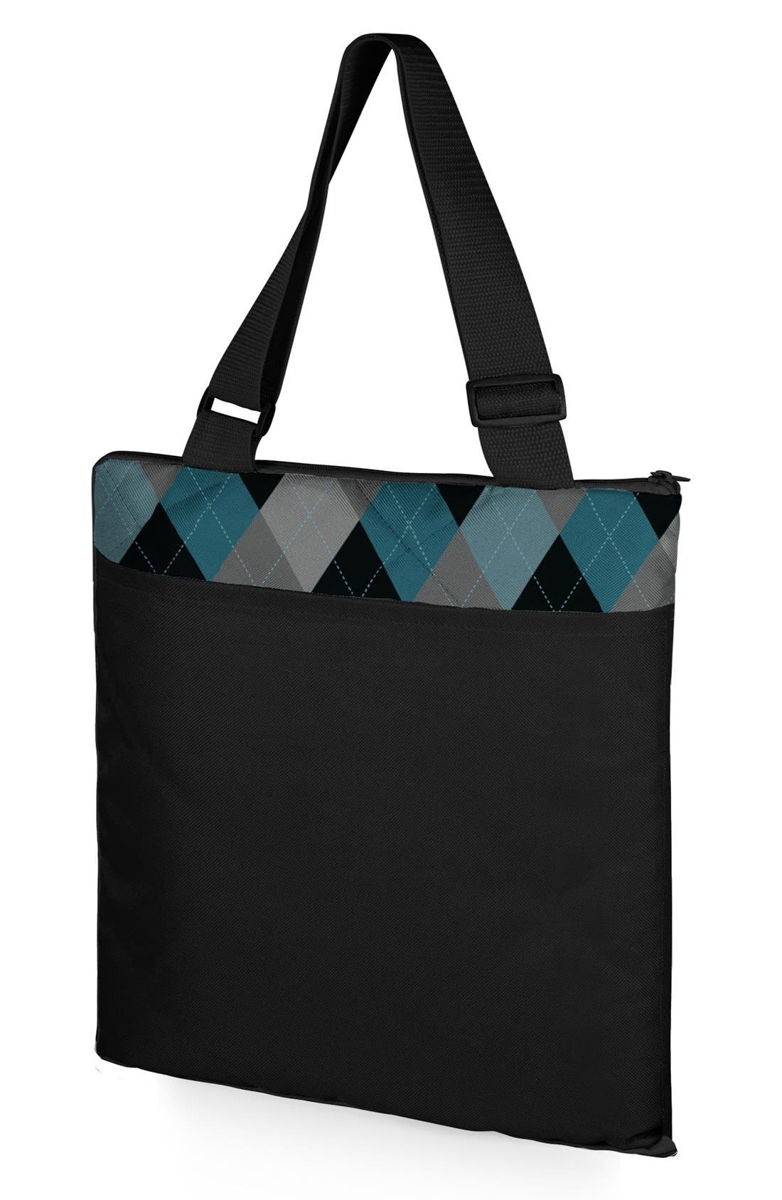'Vista XL' Fold-Up Blanket Tote,                             Alternate thumbnail 3, color,                             001