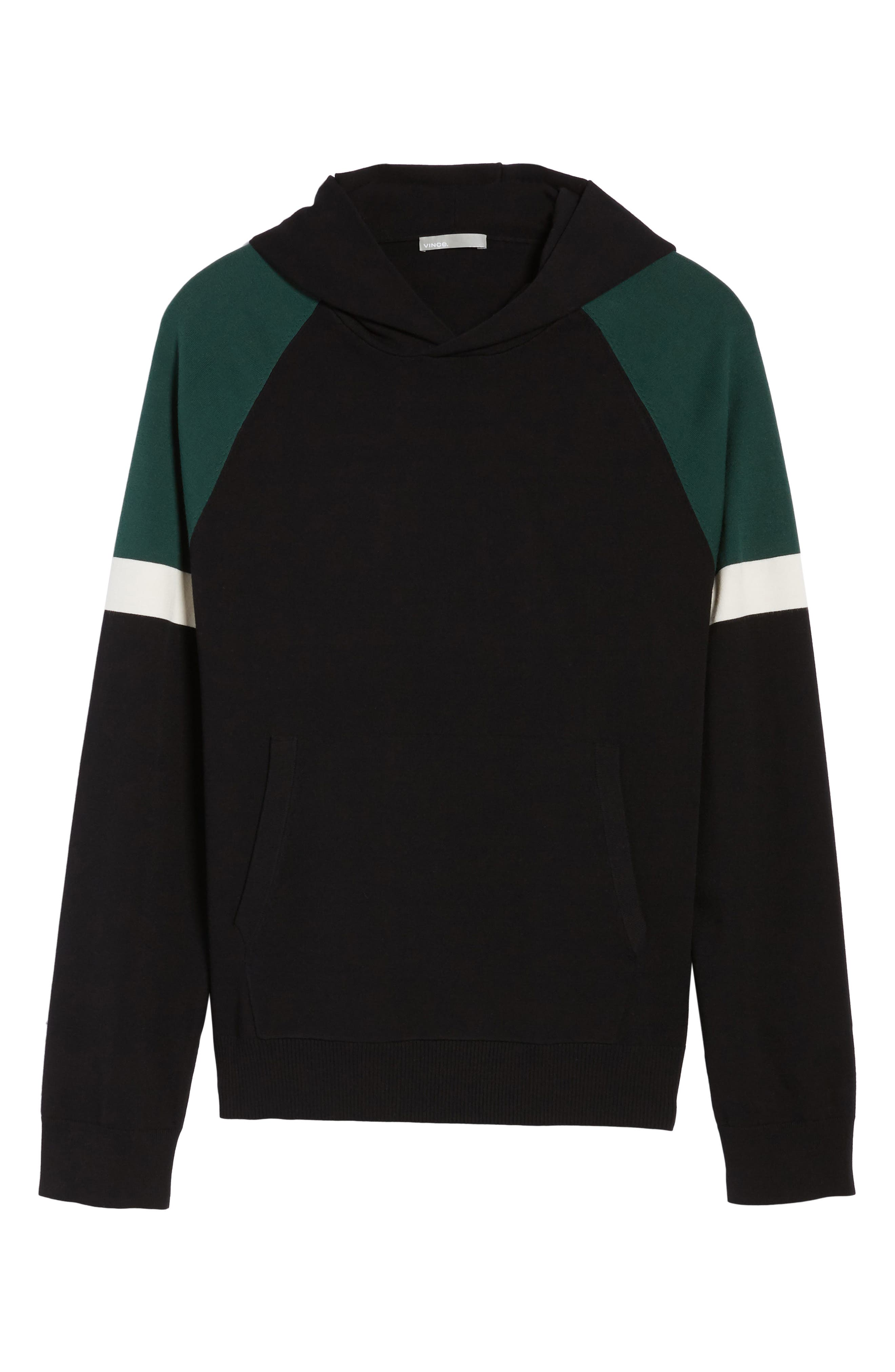 Colorblocked Pullover Hoodie,                             Alternate thumbnail 11, color,