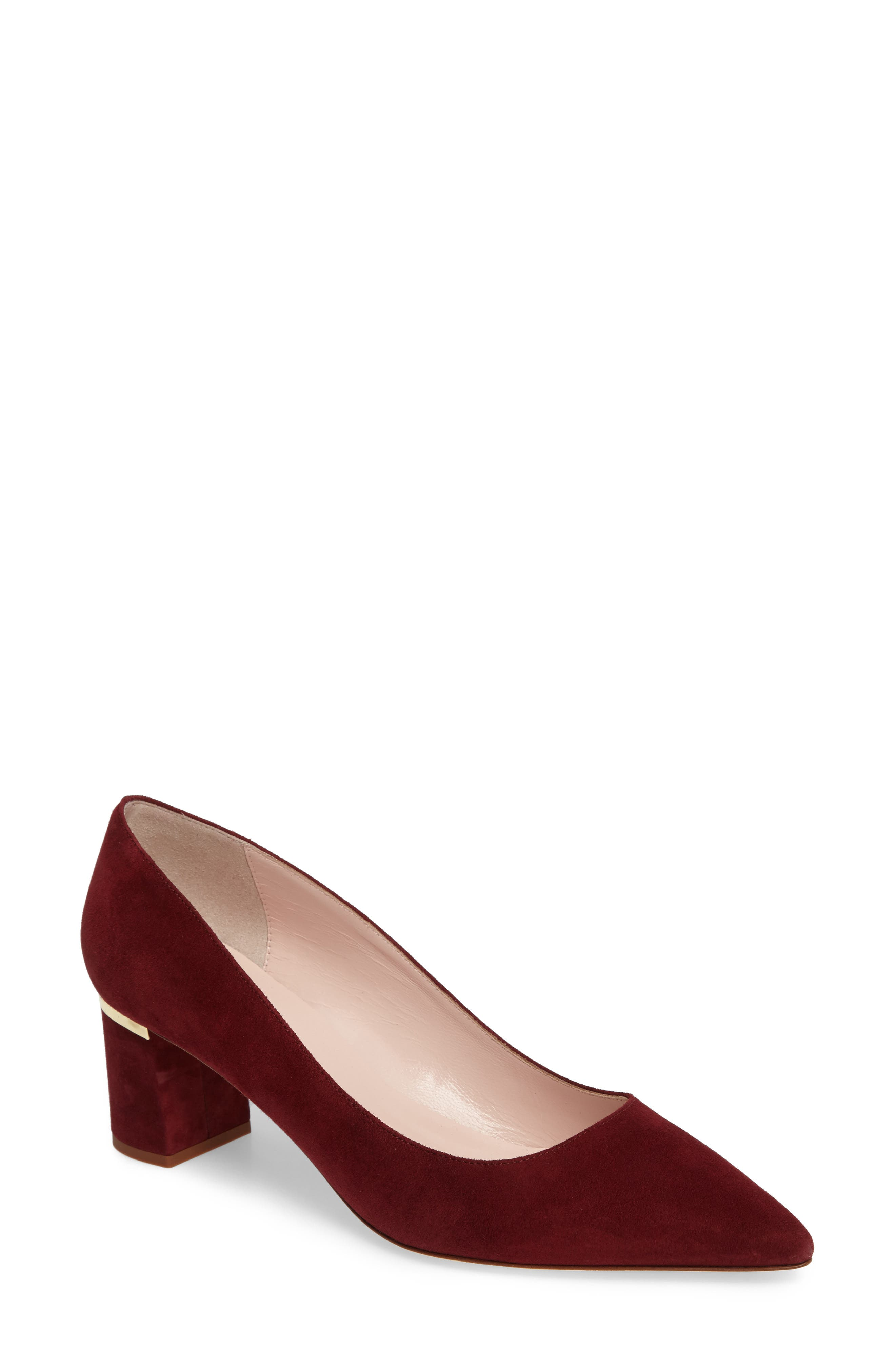 'milan too' pointy toe pump,                         Main,                         color, 620