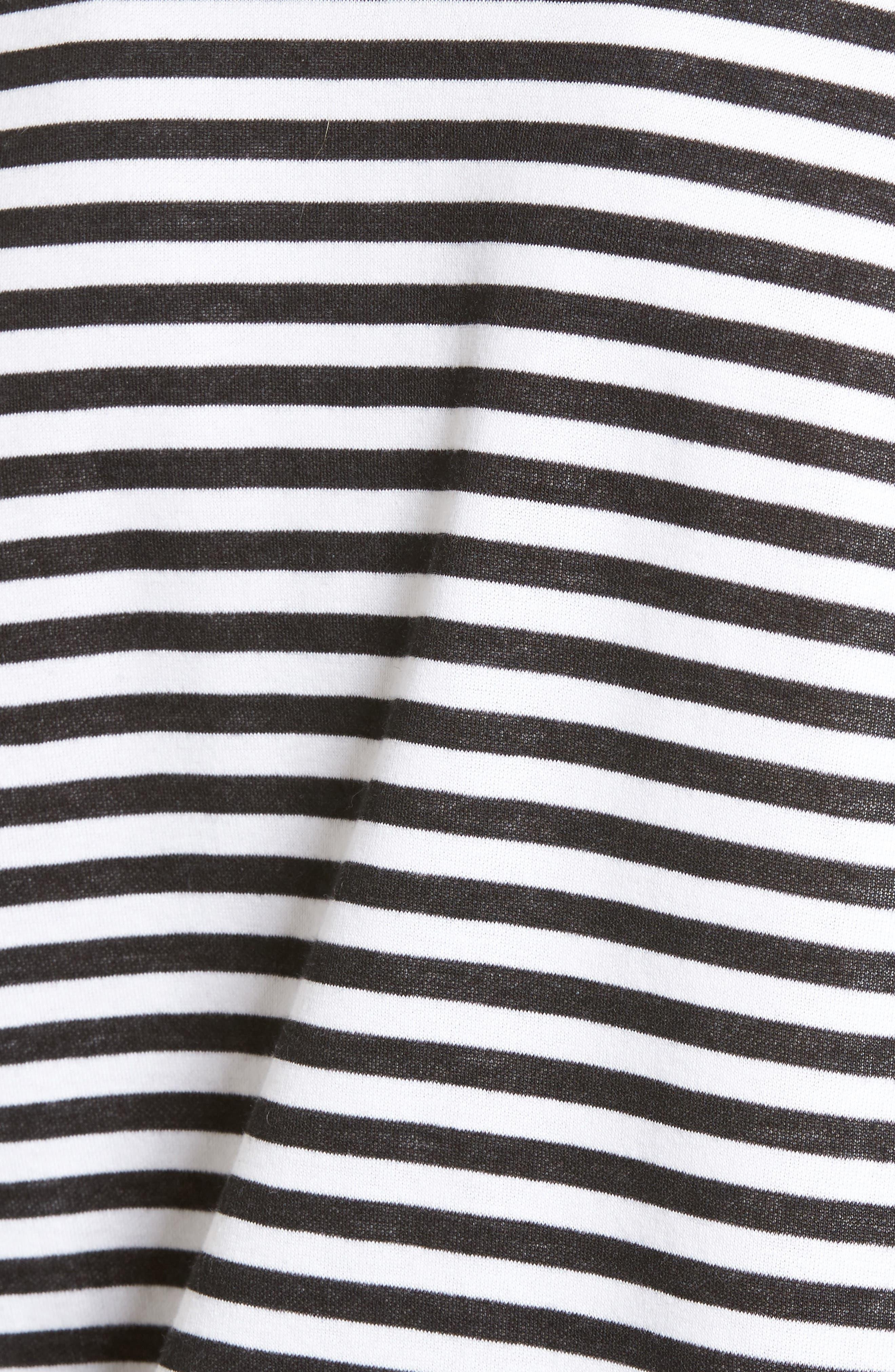 Ruched Sleeve Poplin Trim Sweatshirt,                             Alternate thumbnail 17, color,