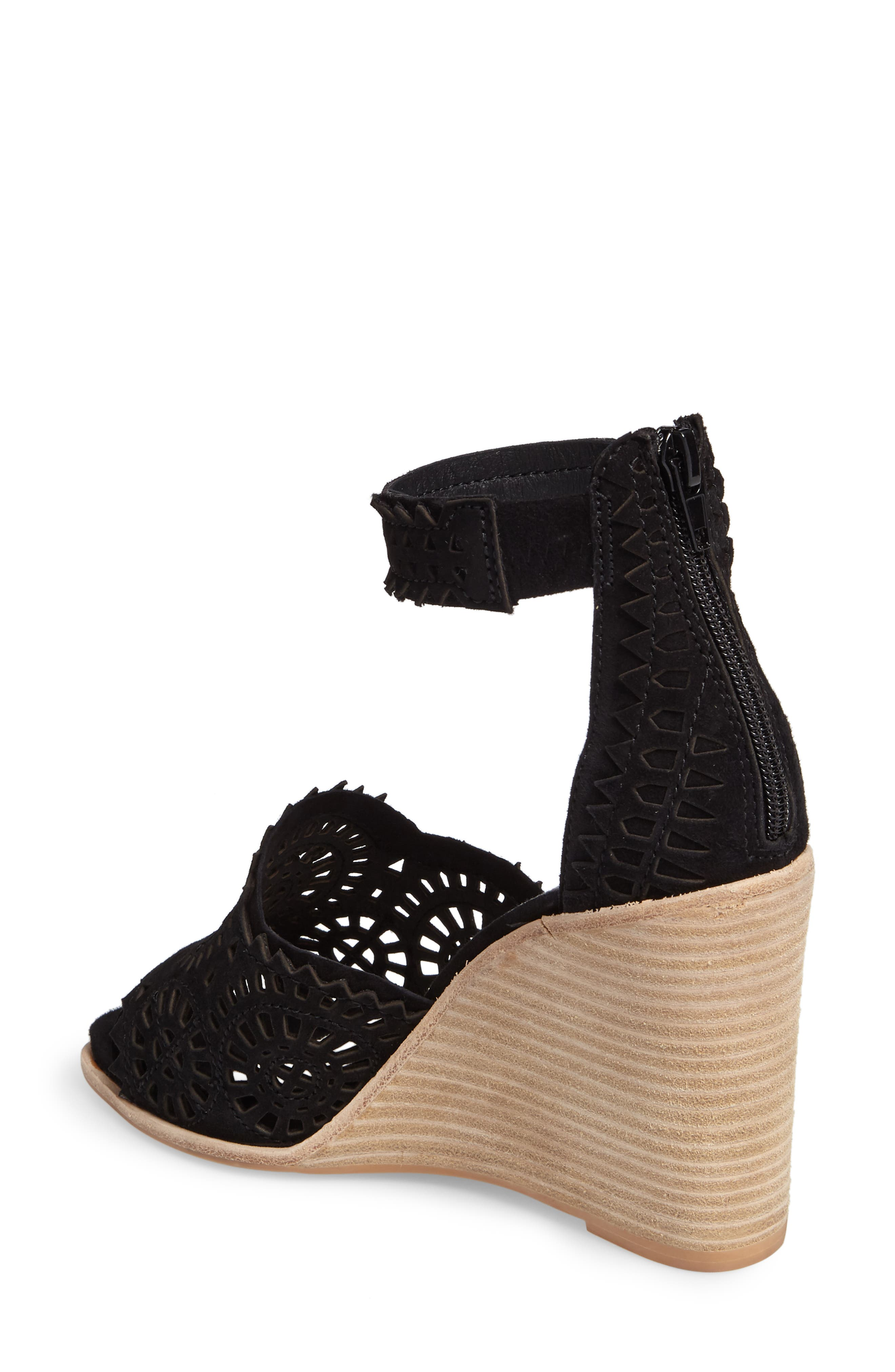 Del Sol Wedge Sandal,                             Alternate thumbnail 2, color,                             004