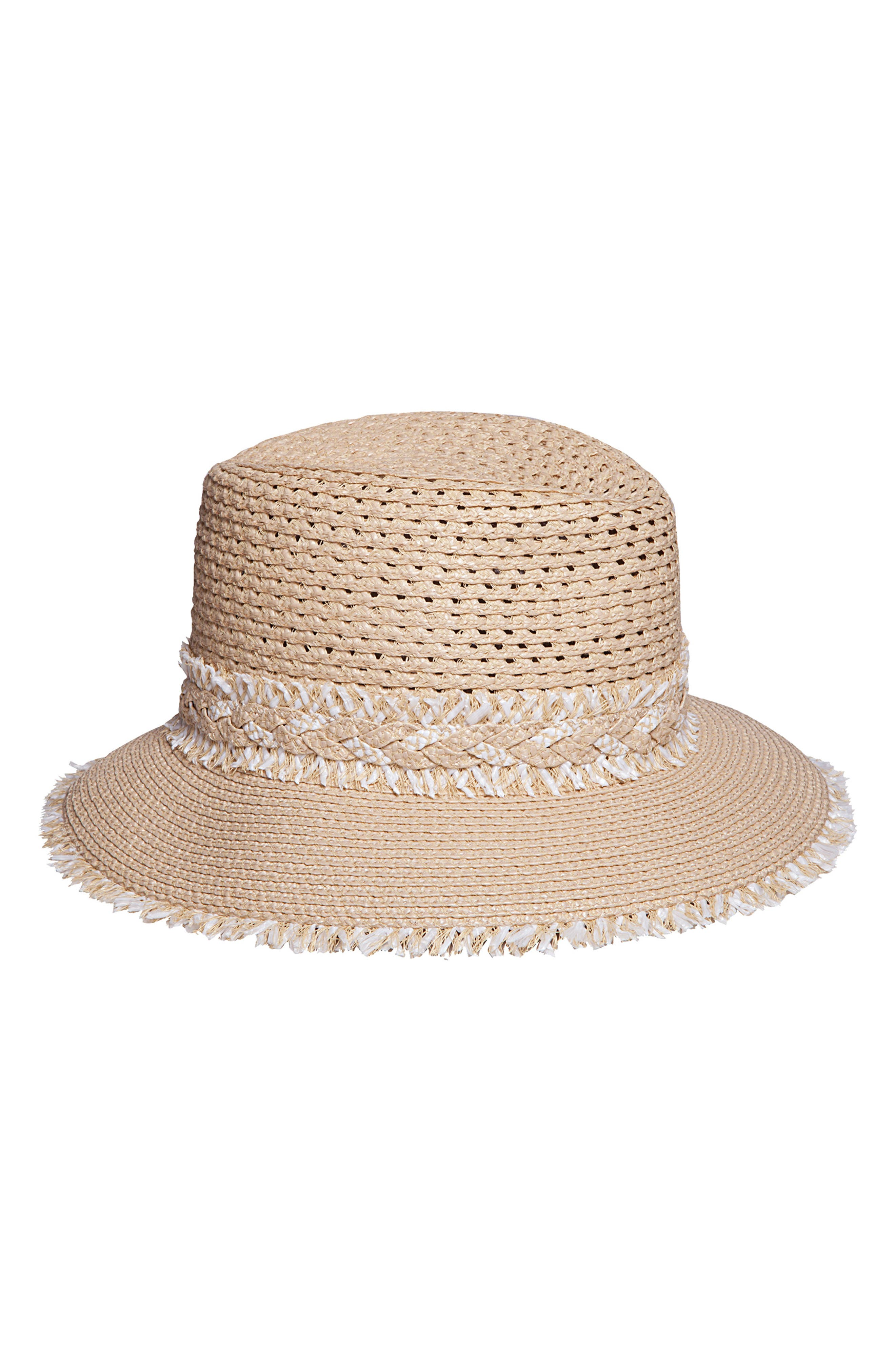 Lulu Squishee<sup>®</sup> Straw Hat,                             Main thumbnail 1, color,                             200
