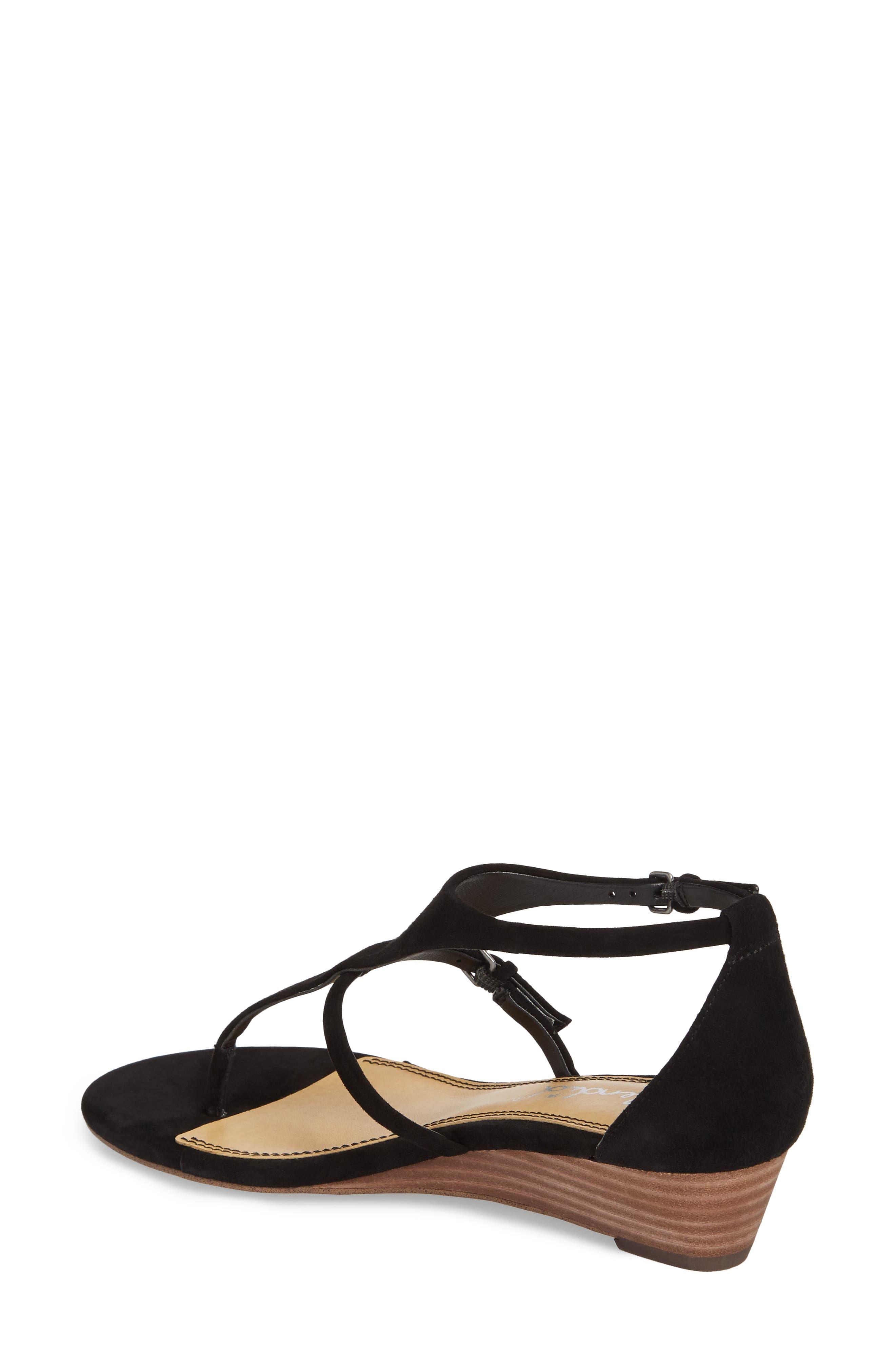 Brooklyn V-Strap Wedge Sandal,                             Alternate thumbnail 5, color,
