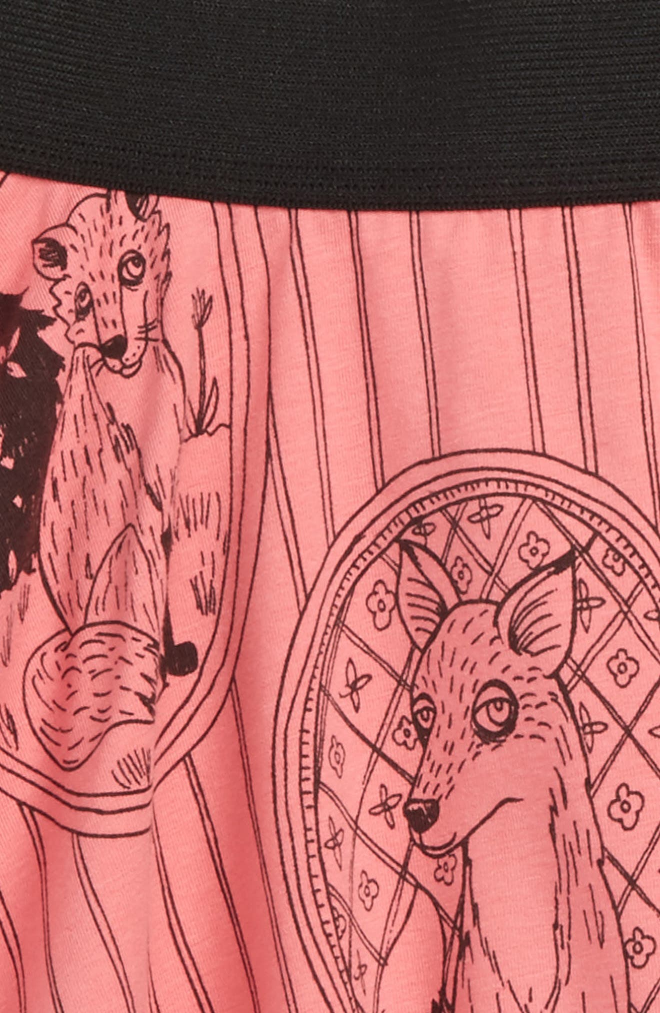 Fox Family Skirt,                             Alternate thumbnail 2, color,                             650