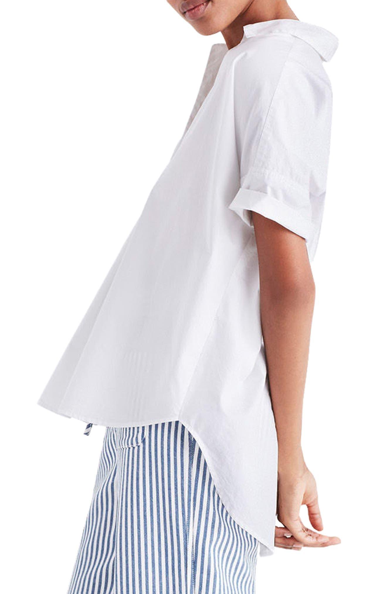 Courier Cotton Shirt,                             Alternate thumbnail 3, color,