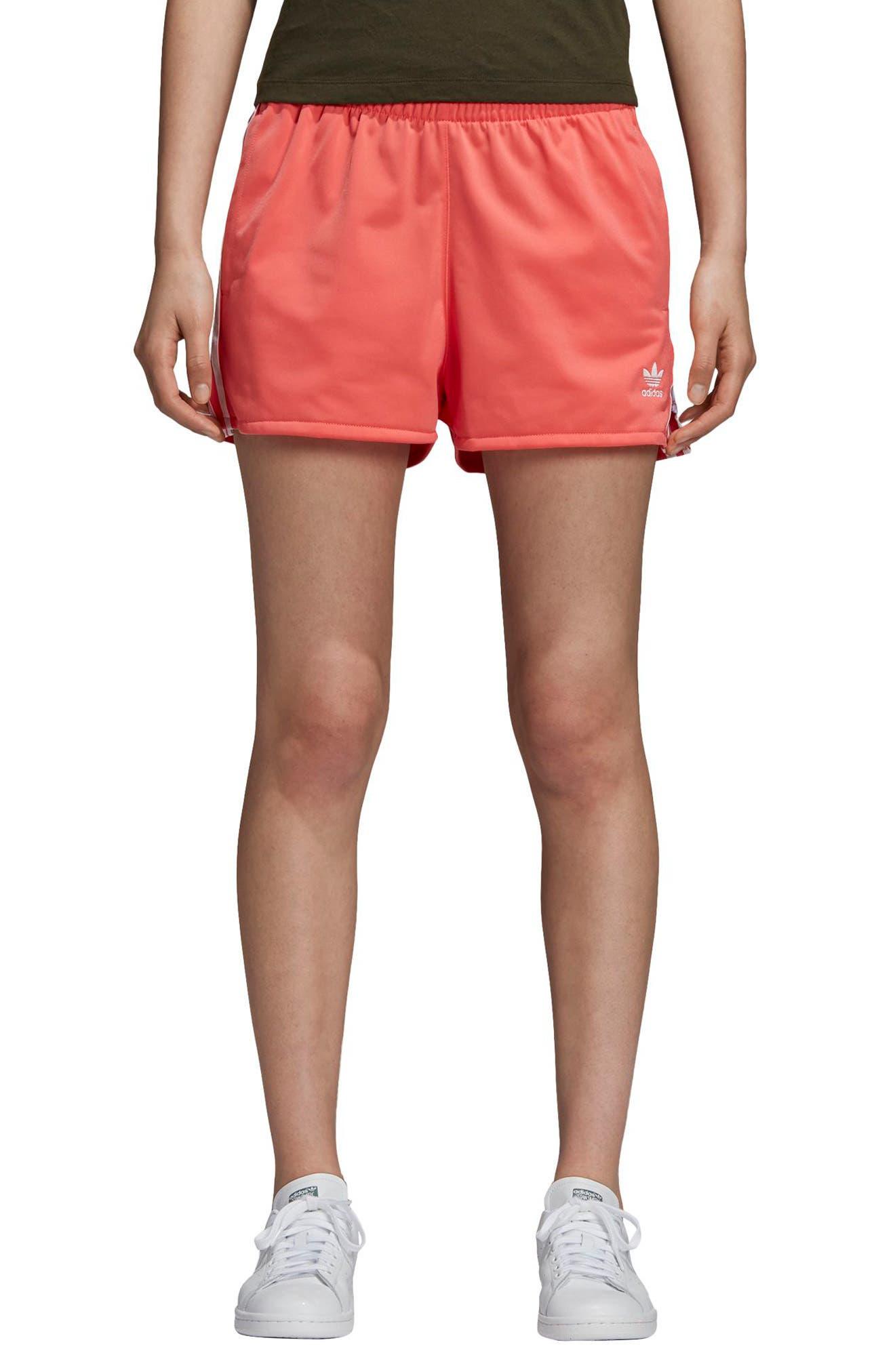 ADIDAS ORIGINALS 3-Stripes Shorts, Main, color, 600