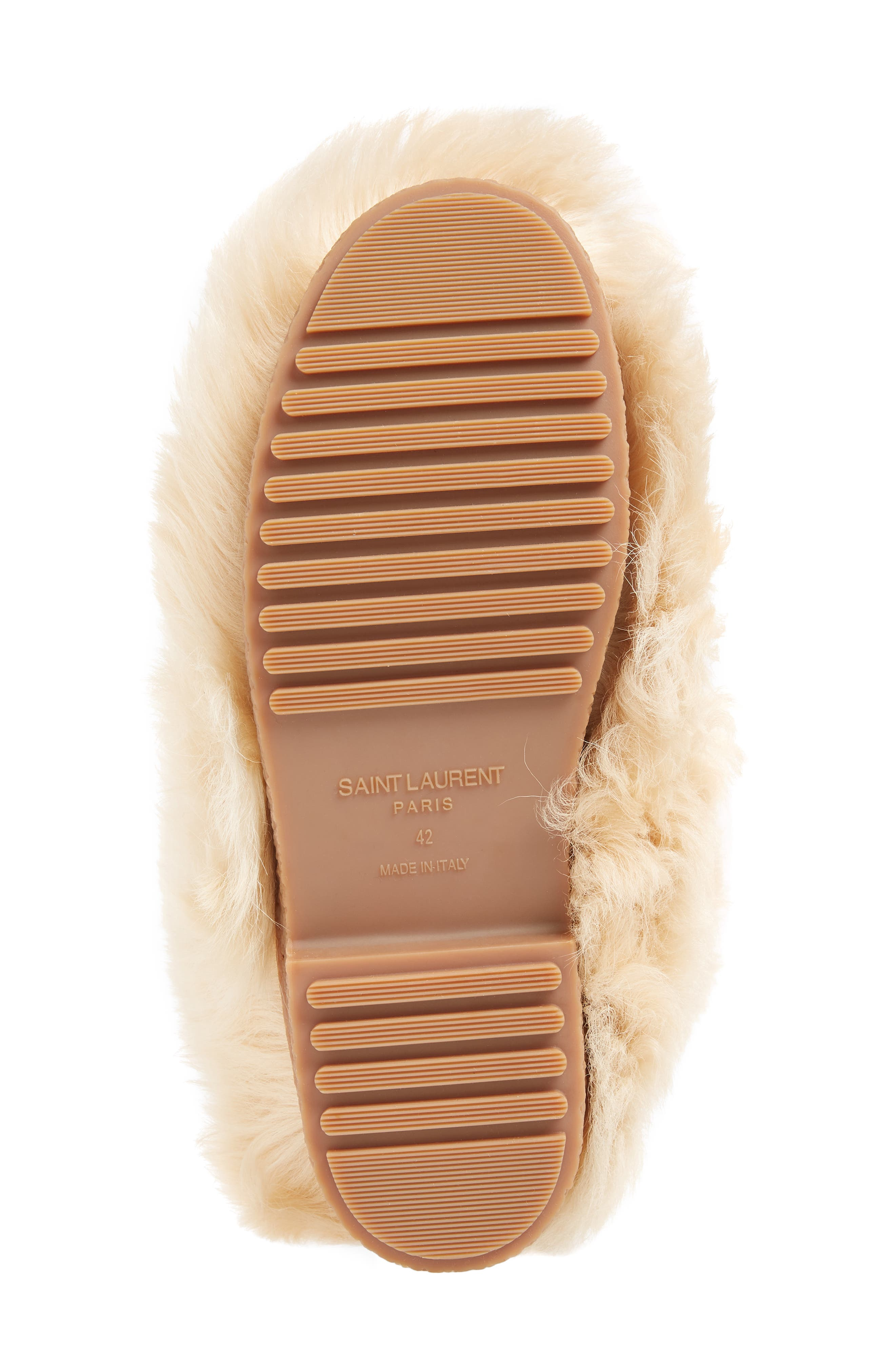 Furry Genuine Shearling Boot,                             Alternate thumbnail 6, color,                             278