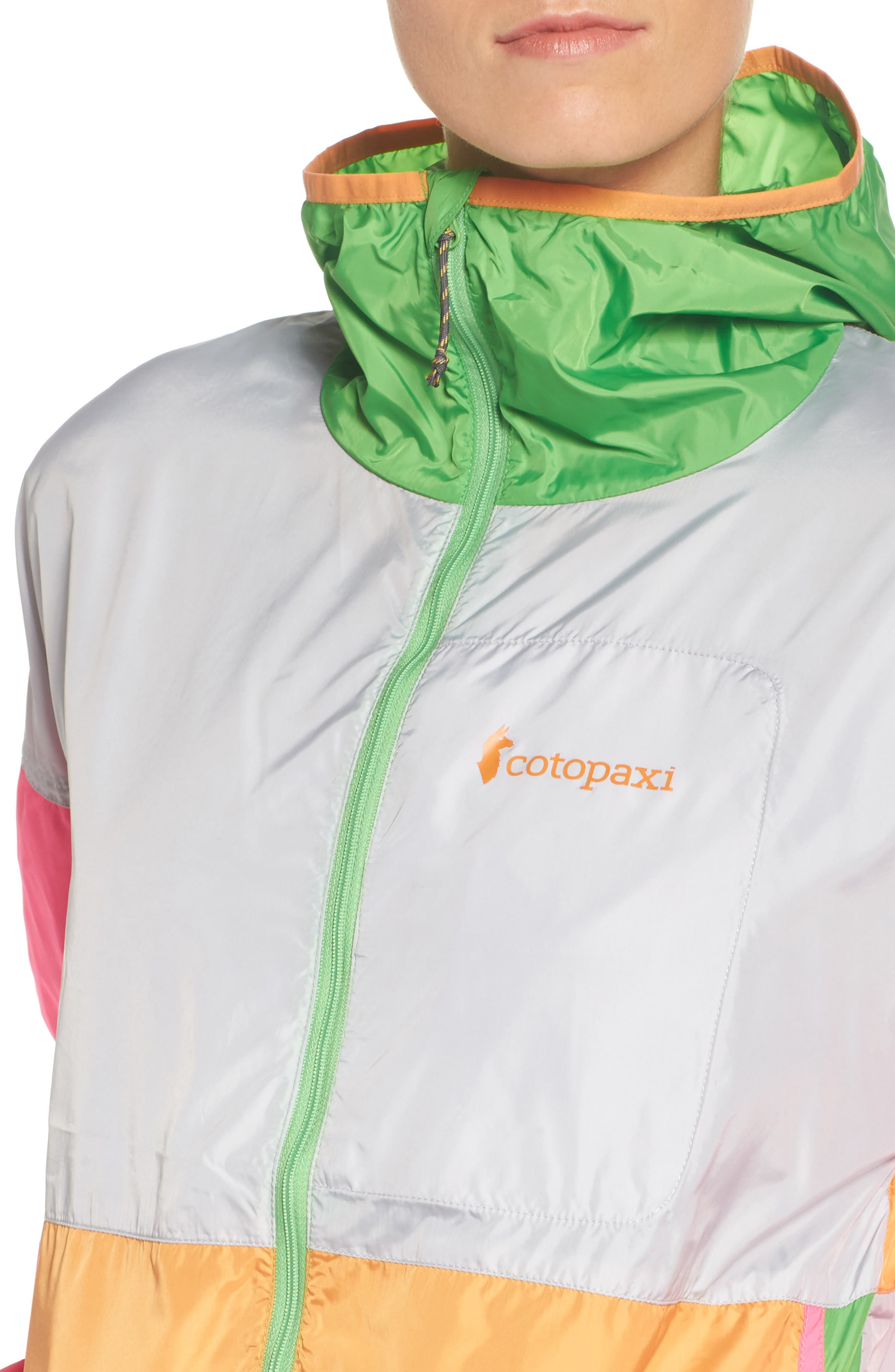 Teca Packable Water Resistant Windbreaker Jacket,                             Alternate thumbnail 23, color,