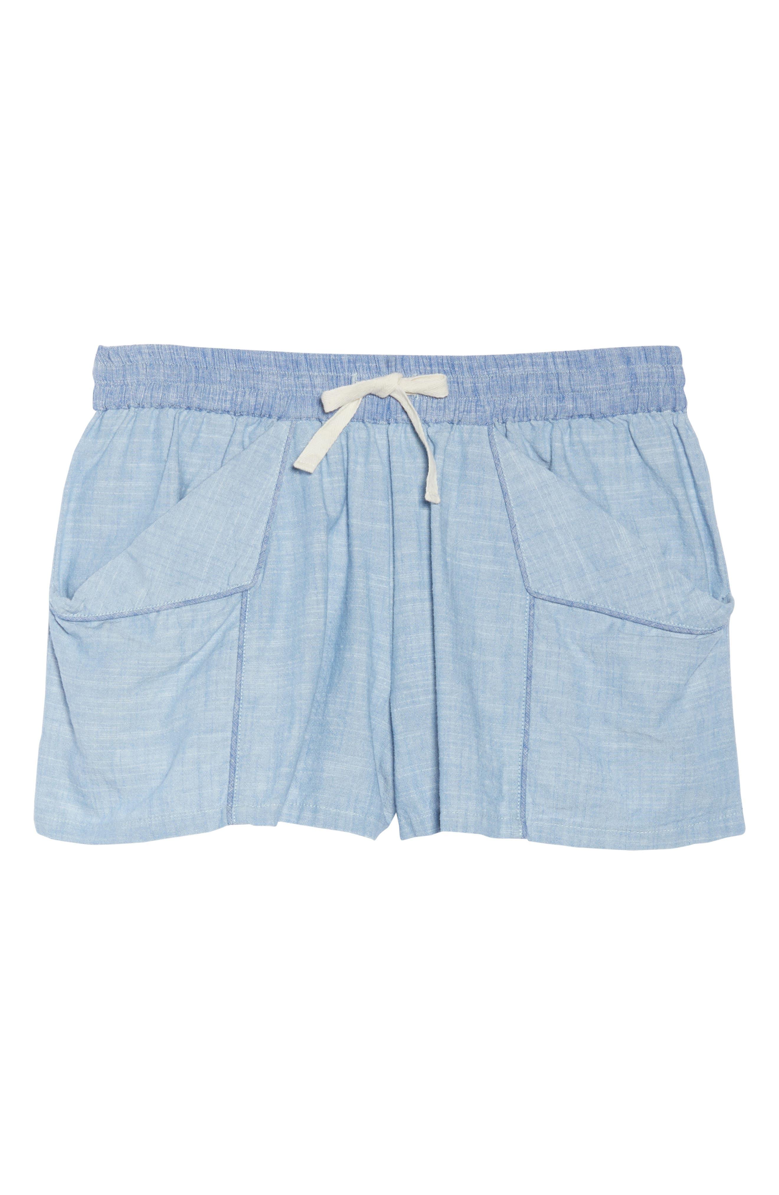 Jude Pajama Shorts,                             Alternate thumbnail 6, color,                             458
