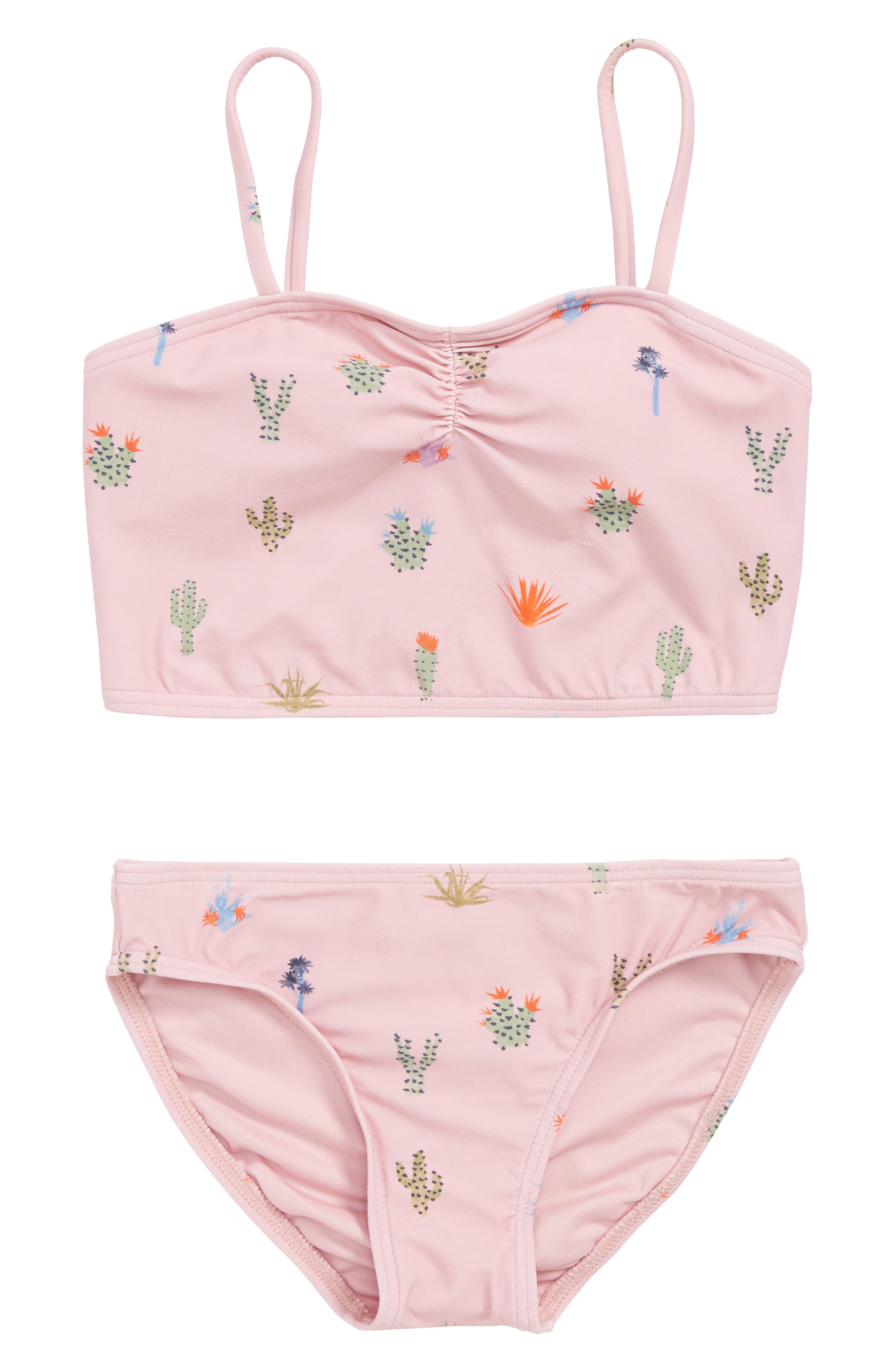 Cacti Two-Piece Swimsuit,                             Main thumbnail 1, color,                             651
