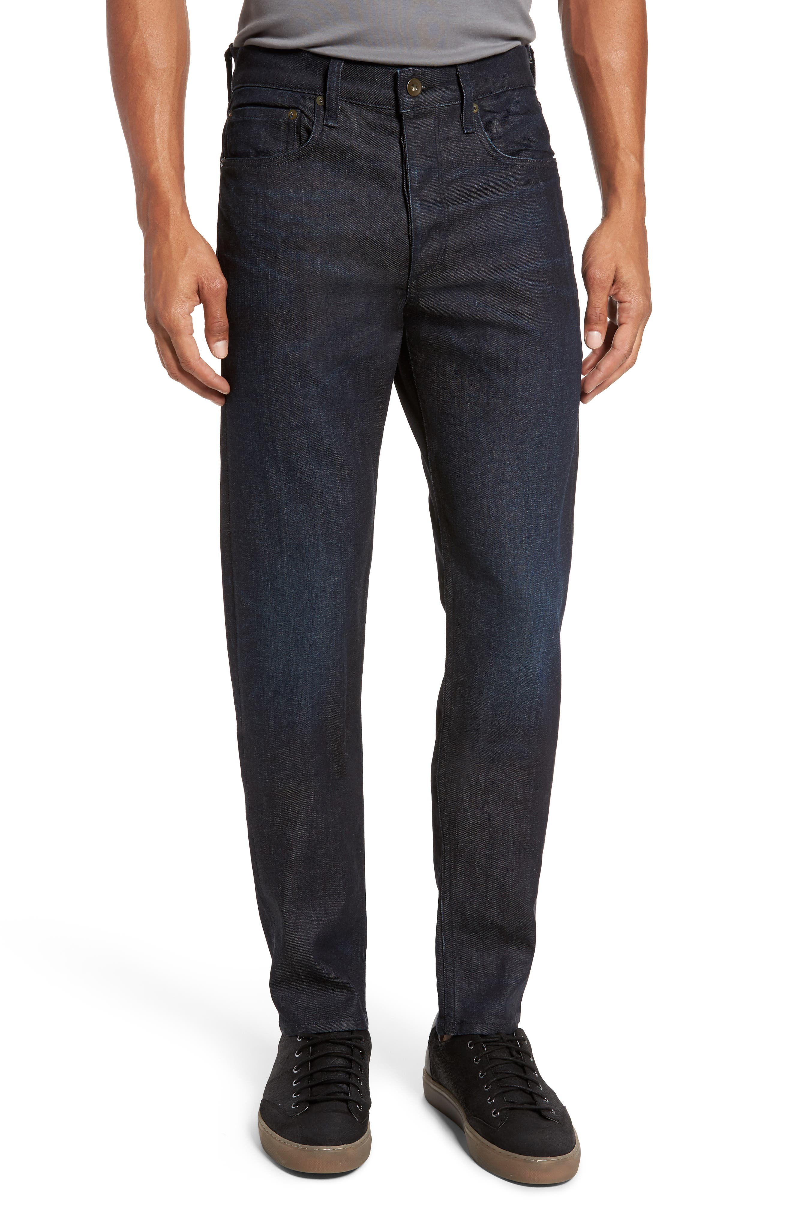 Transcend - Lennox Slim Fit Jeans,                         Main,                         color, 400