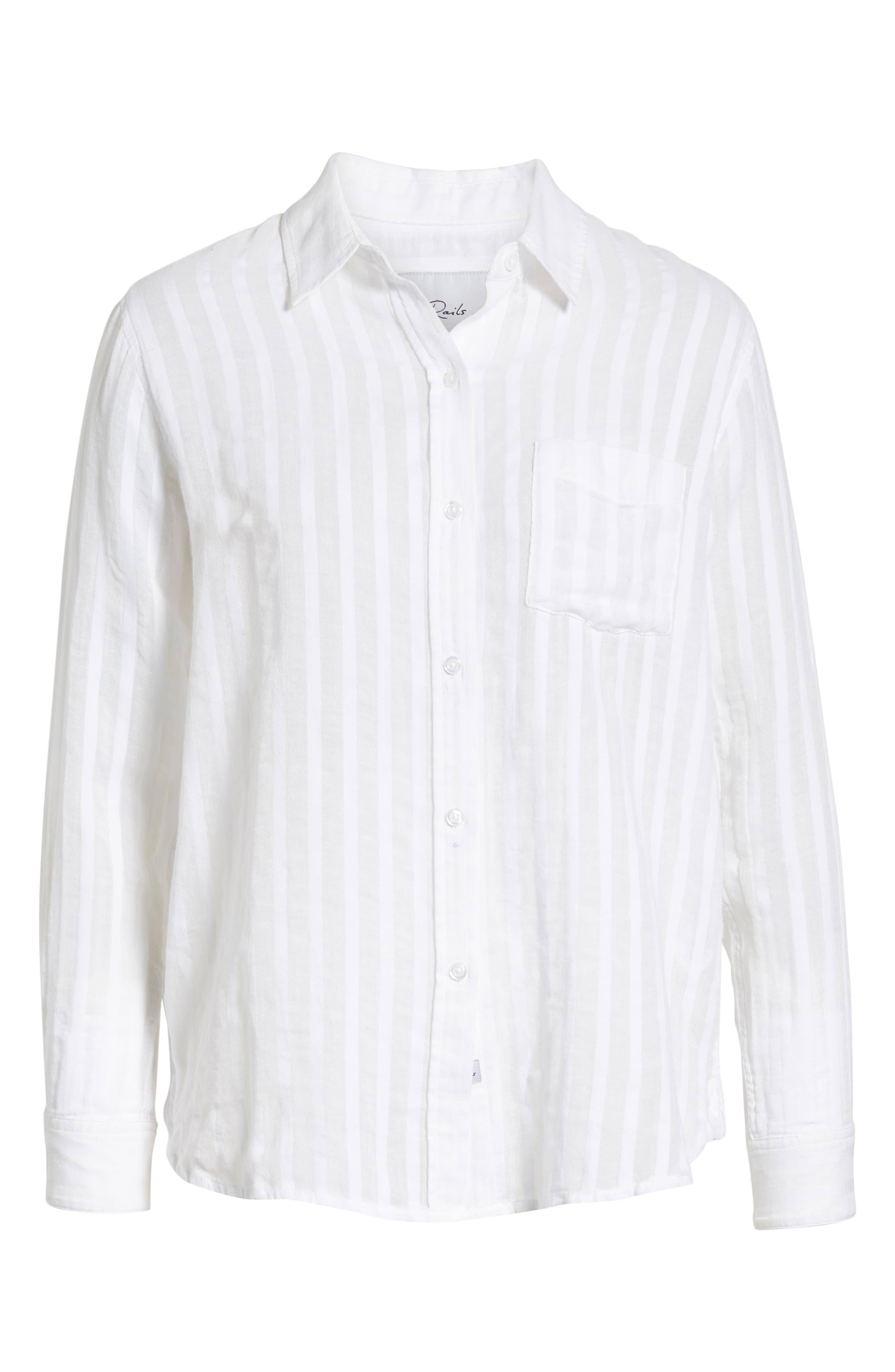 Charli Cotton Shirt,                             Alternate thumbnail 6, color,                             135