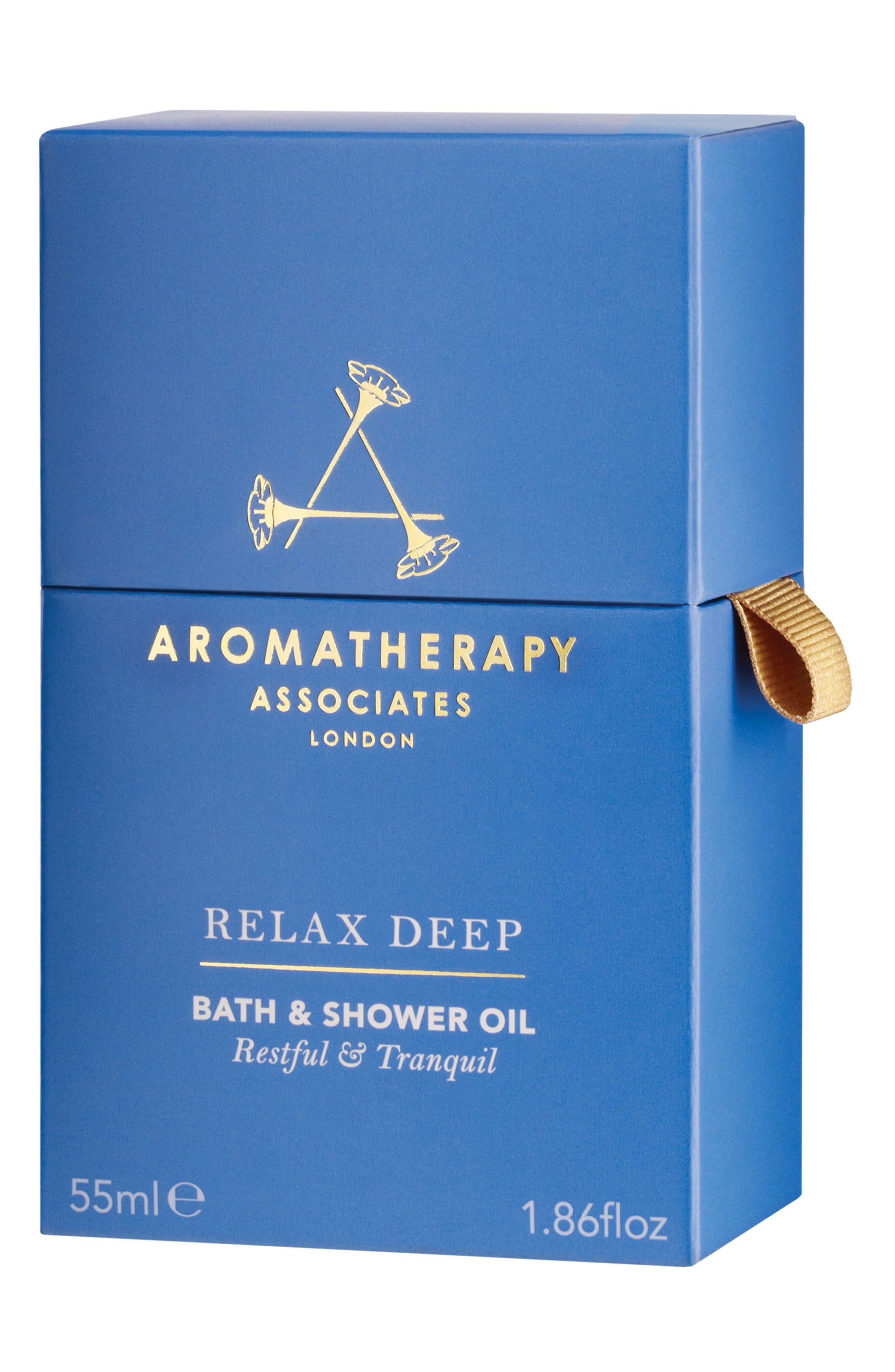 Deep Relax Bath & Shower Oil,                             Alternate thumbnail 2, color,                             RELAX DEEP