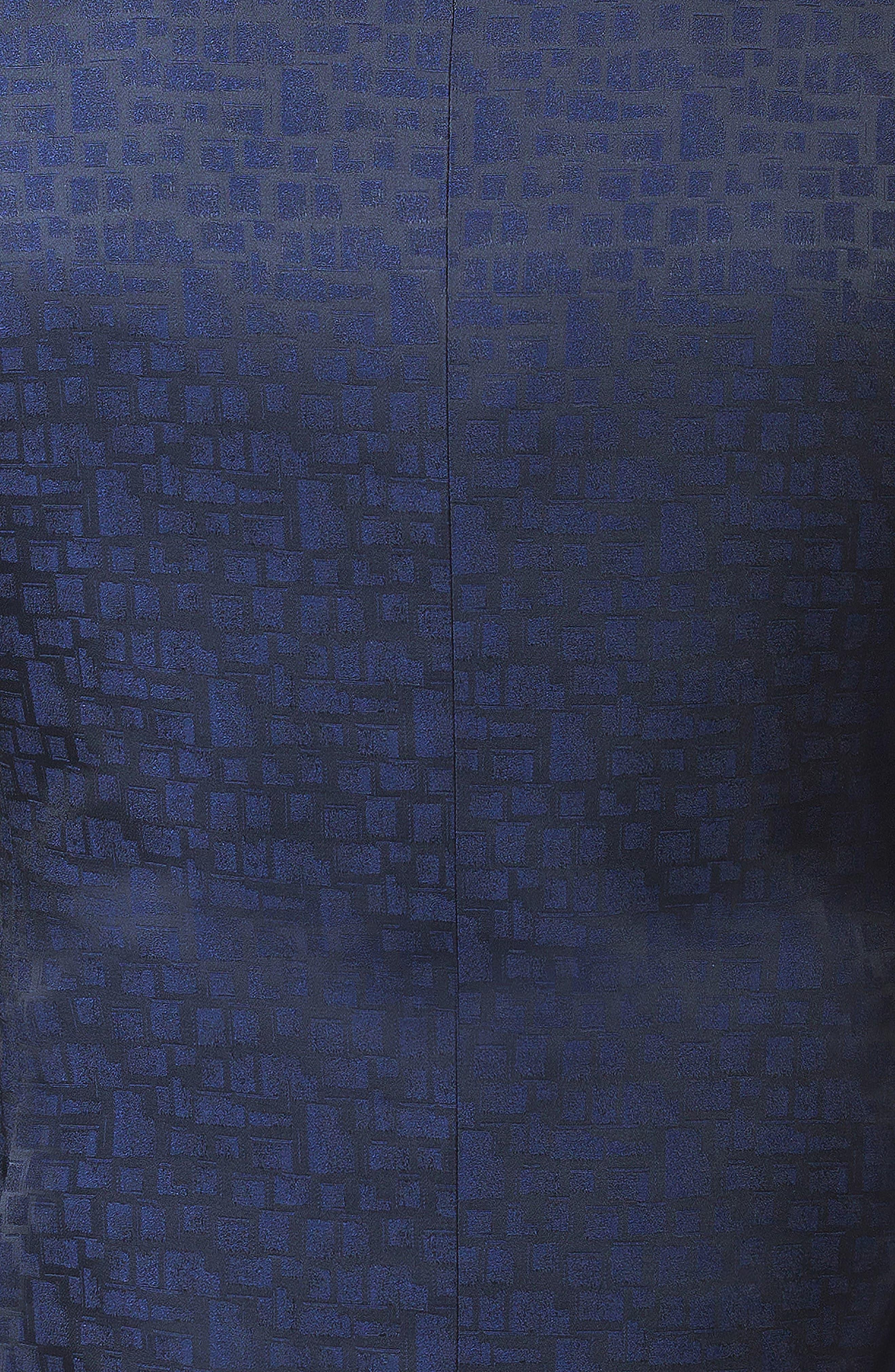 Socrate Window Jacquard Blazer,                             Alternate thumbnail 4, color,                             BLUE