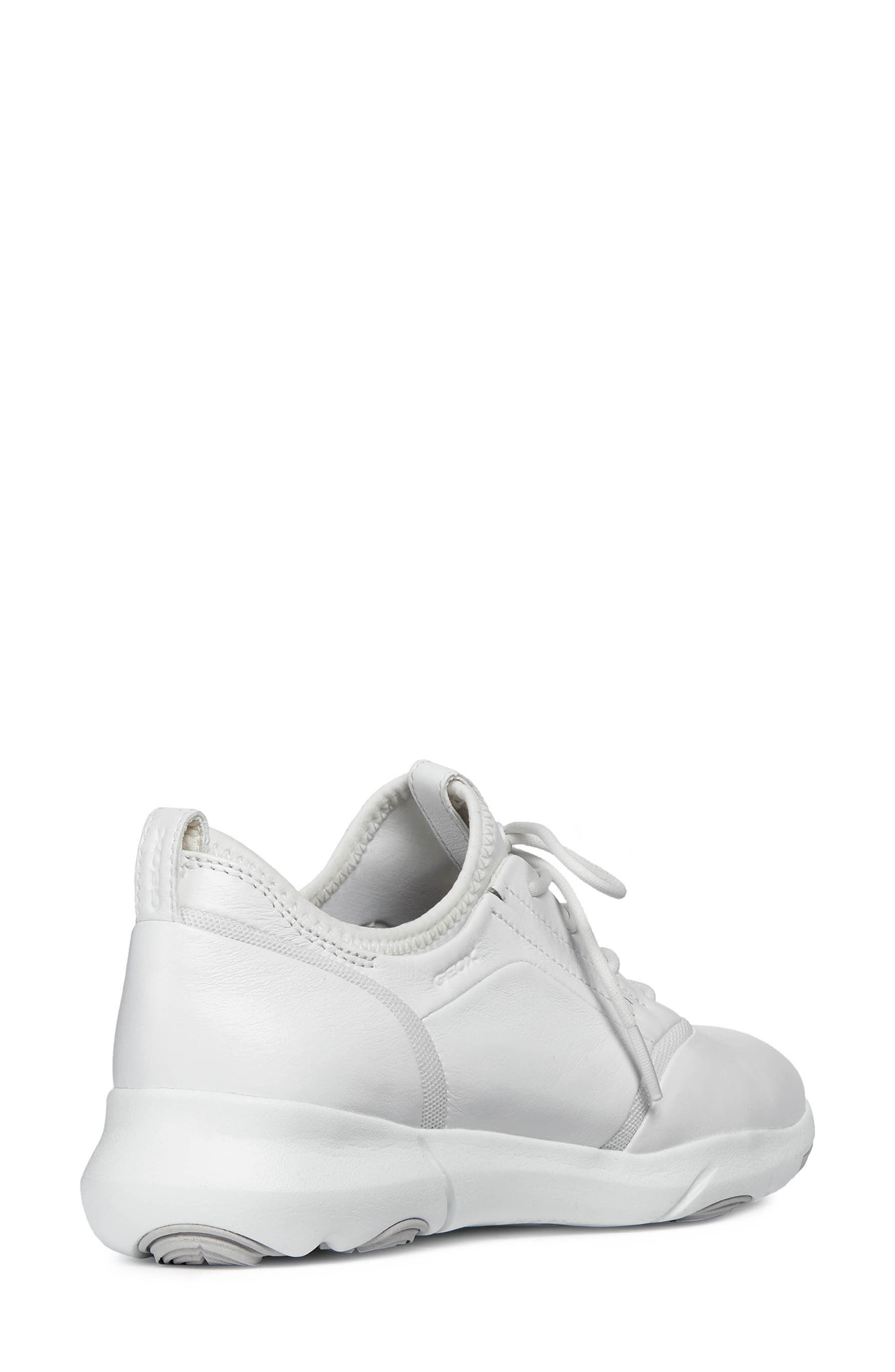 Nebula S 2 Low Top Sneaker,                             Alternate thumbnail 7, color,                             WHITE LEATHER