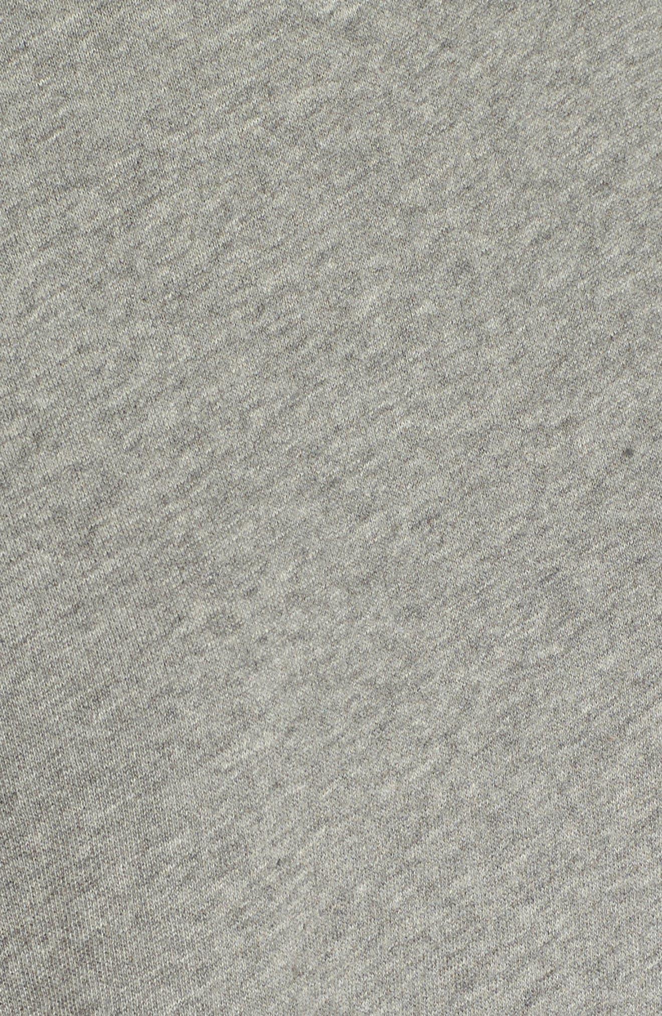 Ruched Sleeve Sweatshirt,                             Alternate thumbnail 5, color,                             030