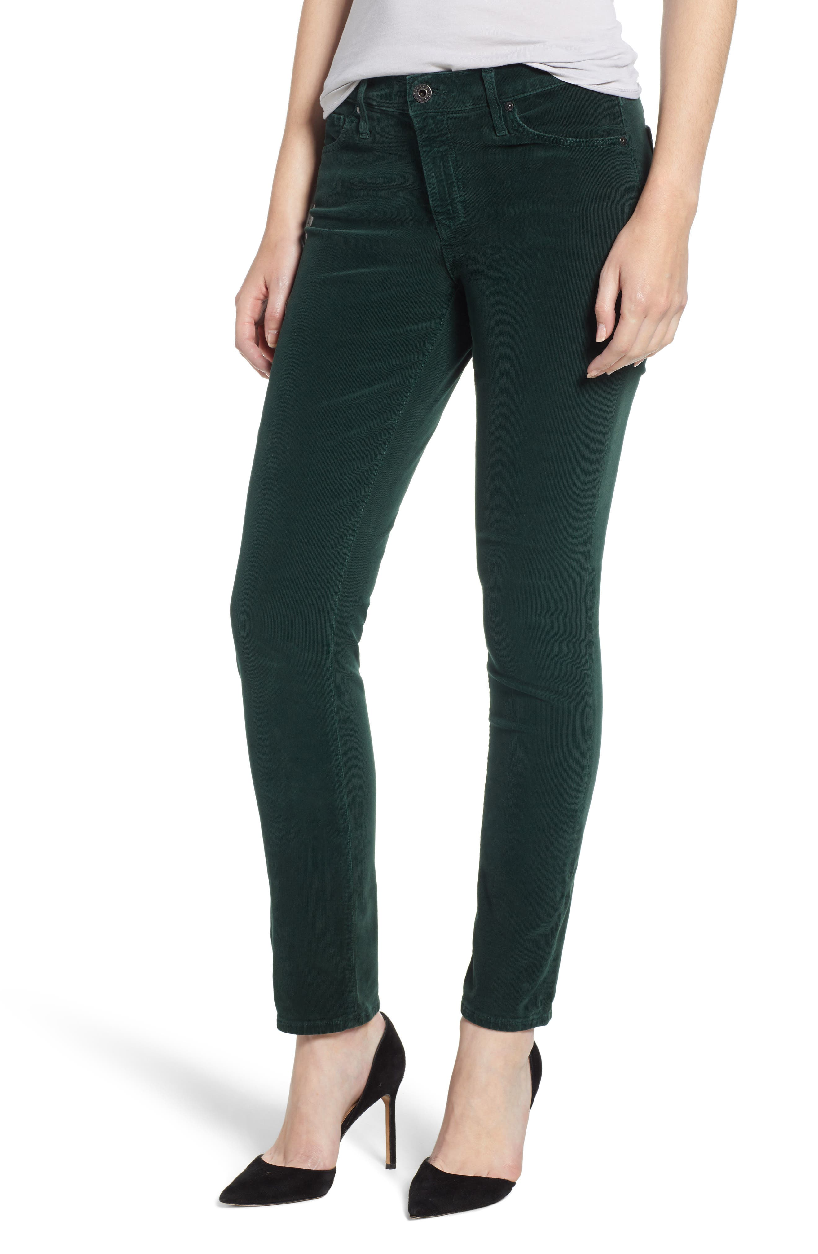 AG,                             'Prima' Corduroy Skinny Pants,                             Main thumbnail 1, color,                             314