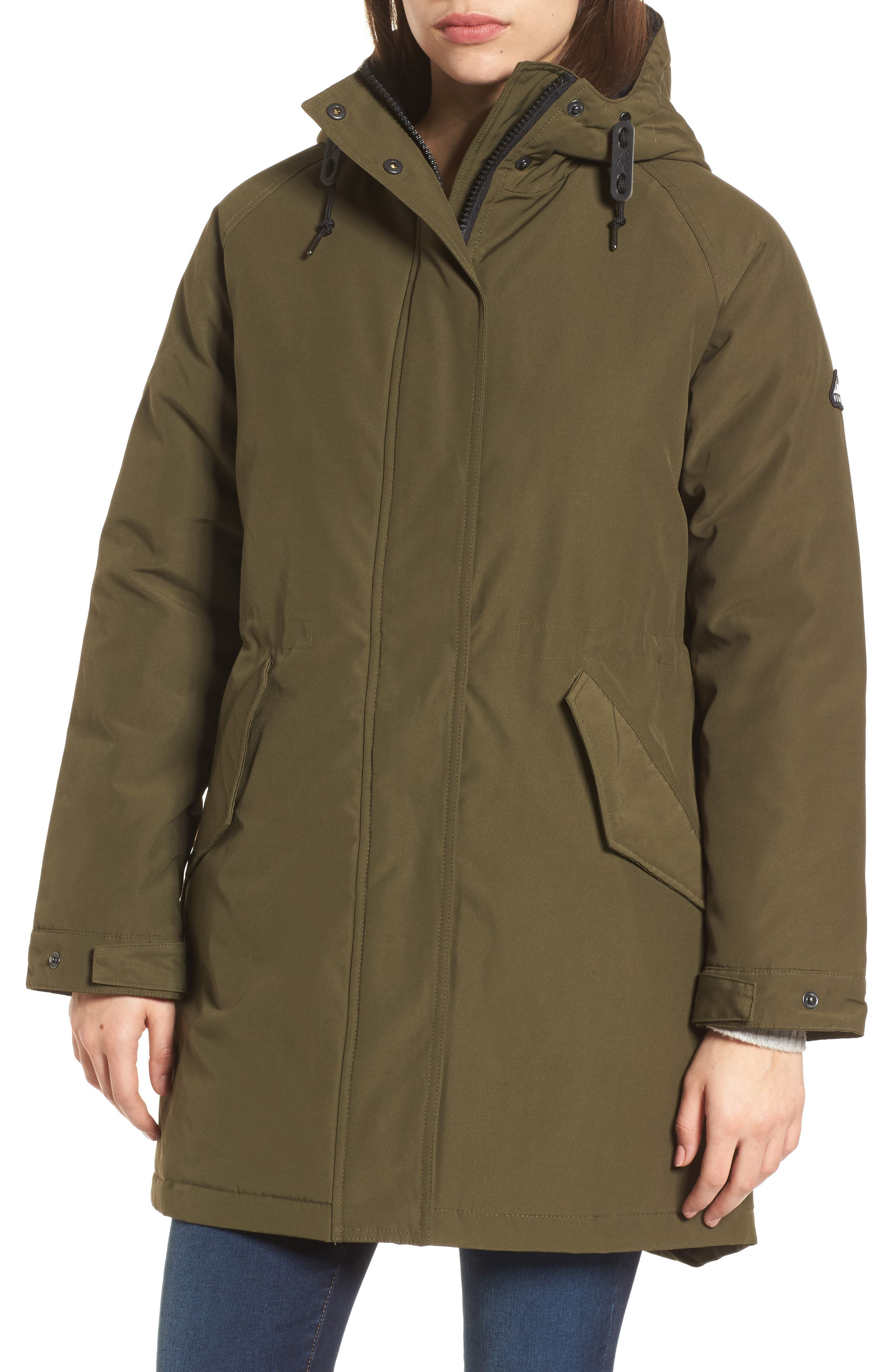 Kingman Hooded Fishtail Parka,                             Alternate thumbnail 4, color,                             307