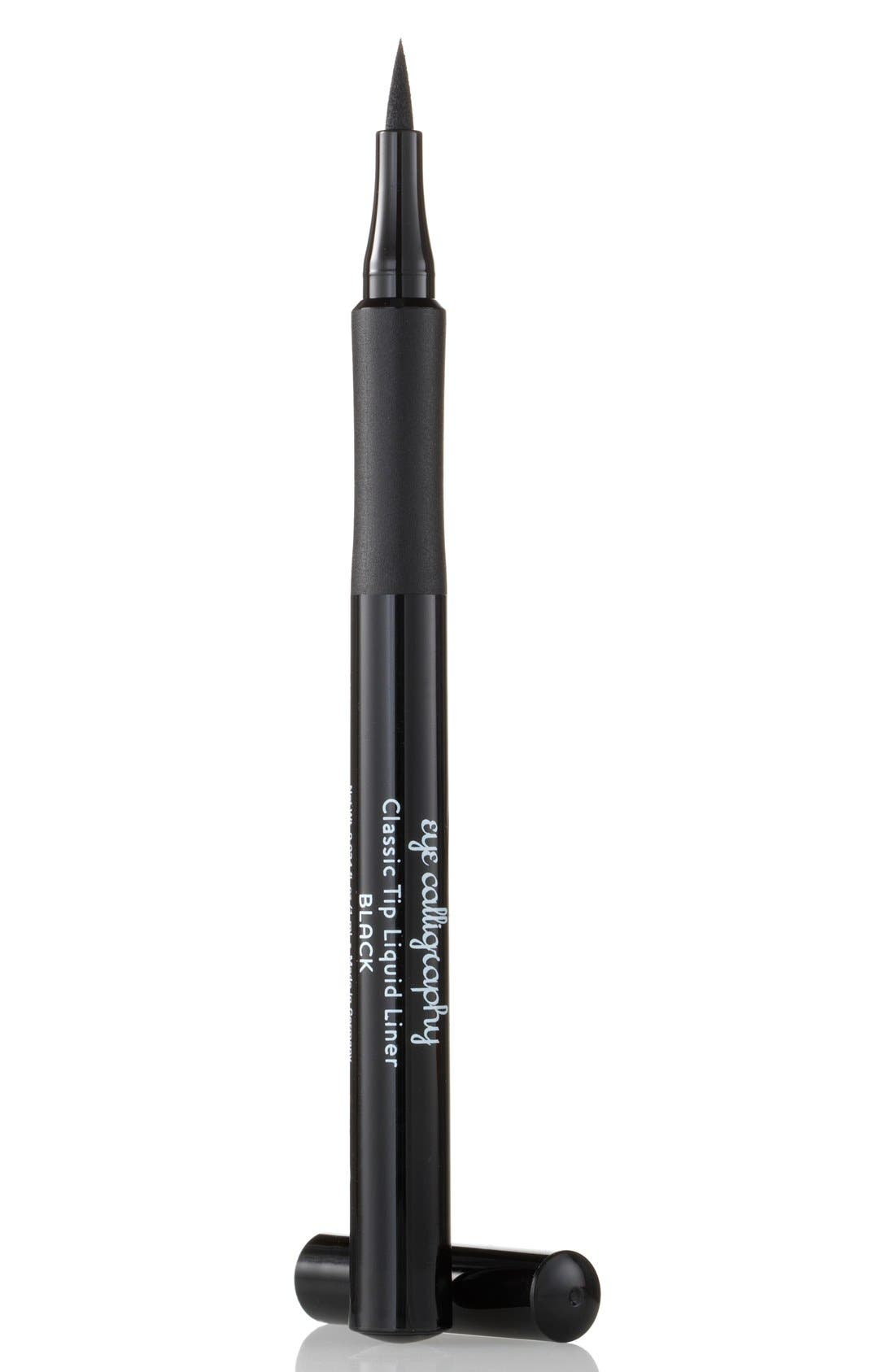 Eye Calligraphy Eyeliner Marker,                             Main thumbnail 1, color,                             BLACK