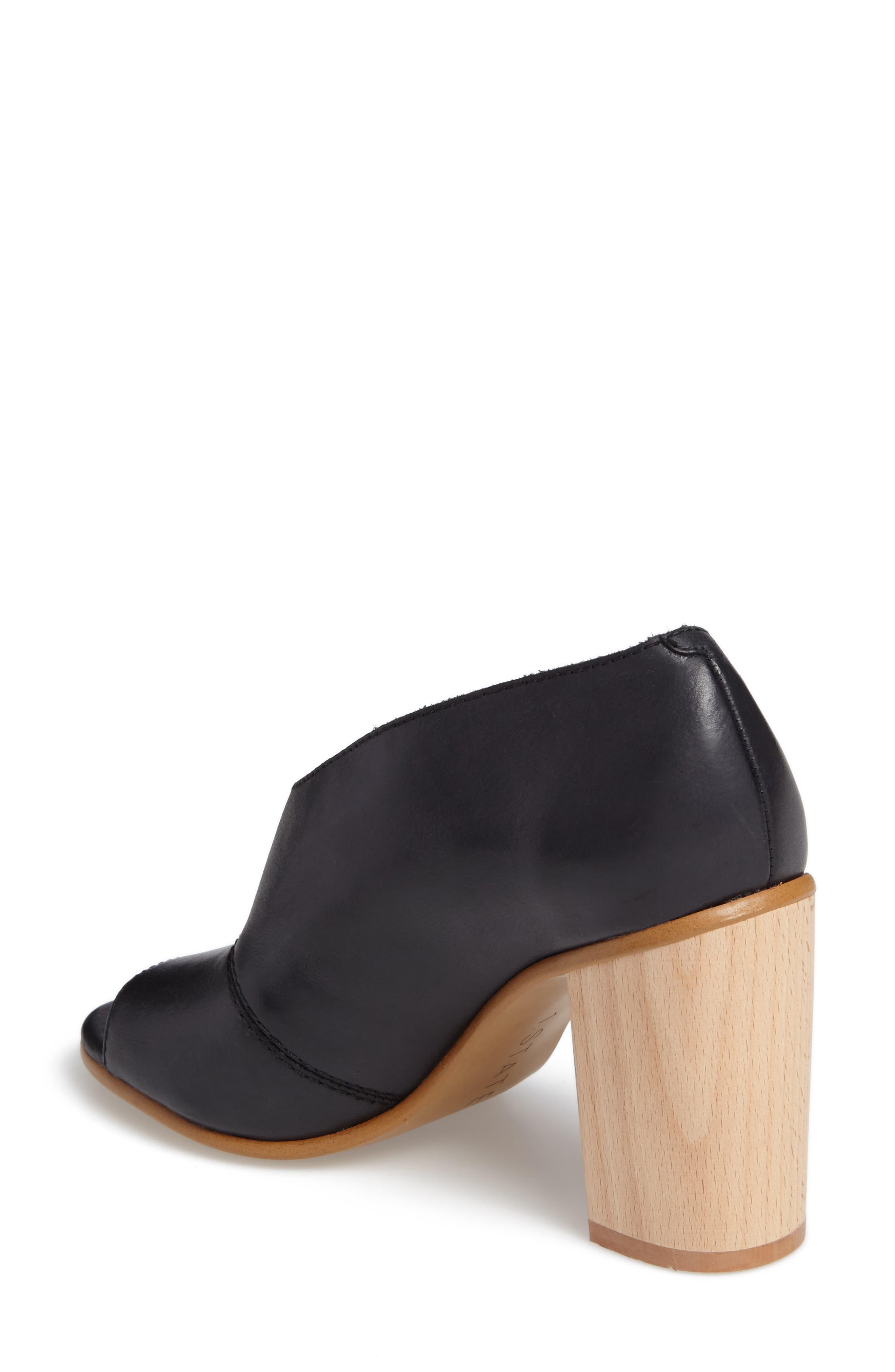 Amble Asymmetrical Sandal,                             Alternate thumbnail 2, color,                             001
