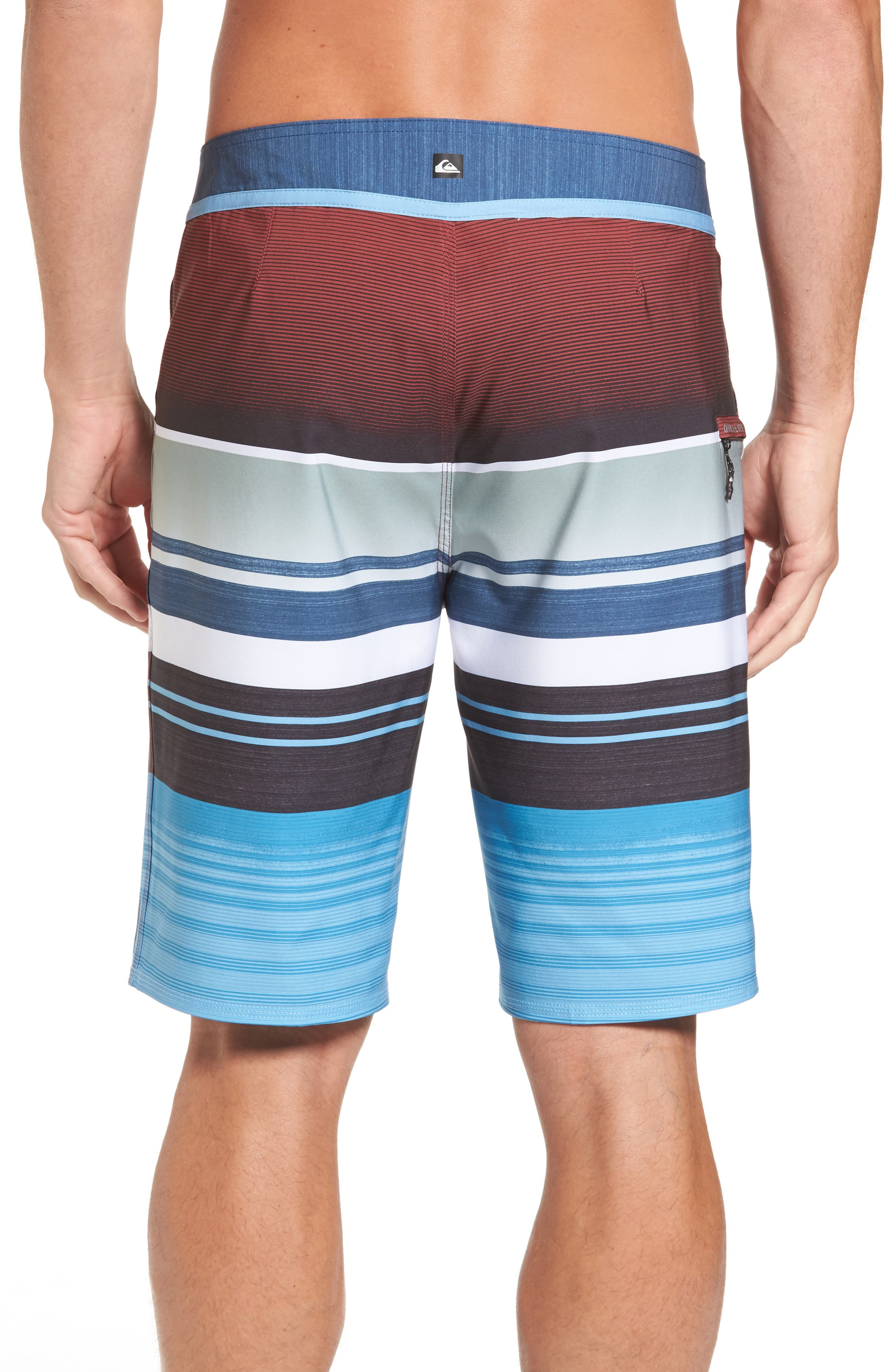 Everyday Stripe Board Shorts,                             Alternate thumbnail 2, color,                             401