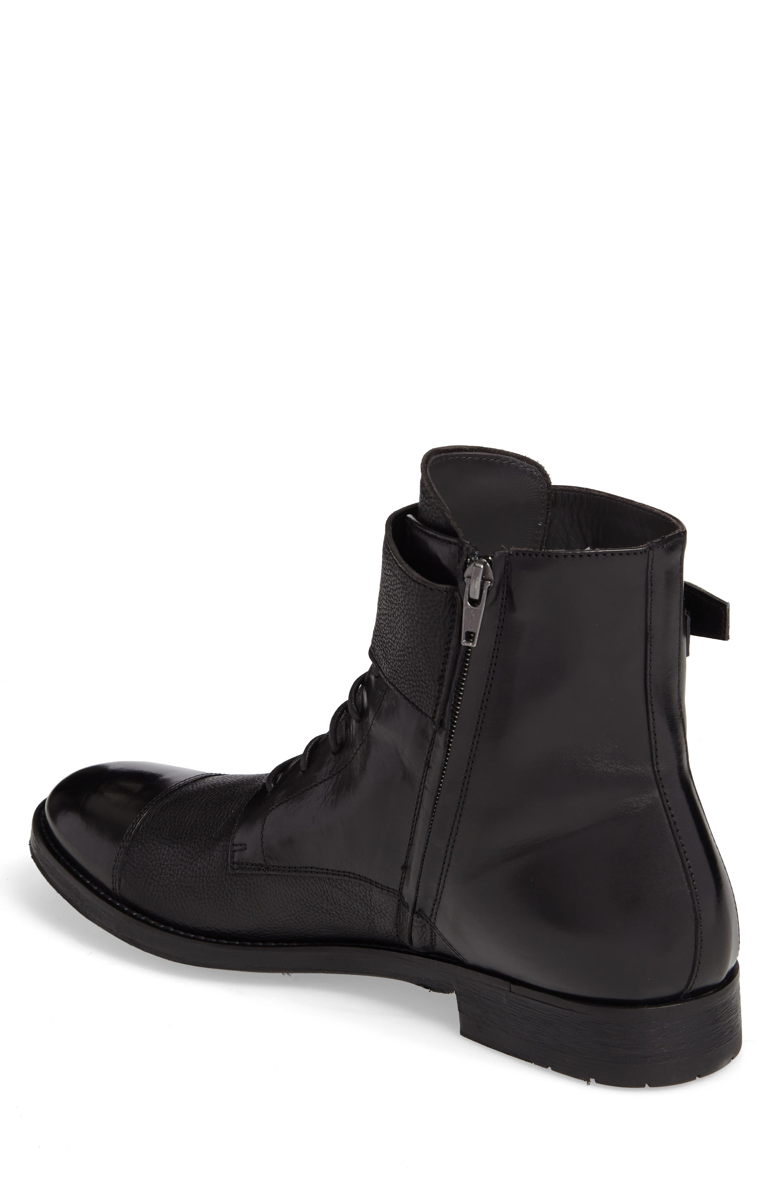 Flyboy Cap Toe Boot,                             Alternate thumbnail 2, color,                             001