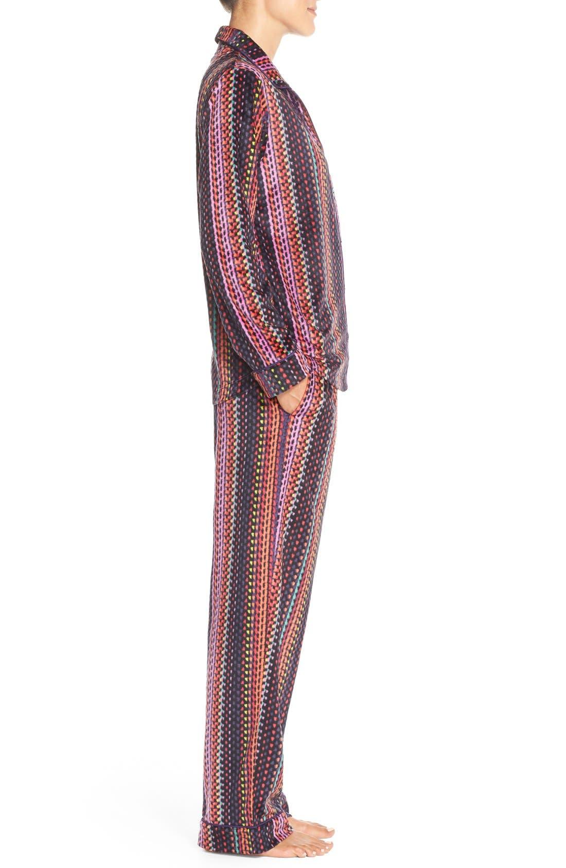 Microfleece Pajamas,                             Alternate thumbnail 5, color,                             001