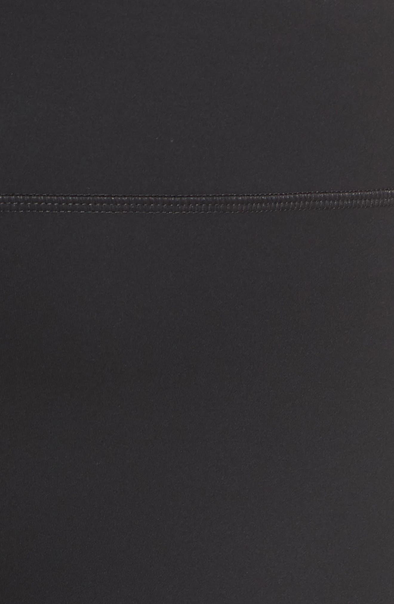 High Waist Full Length Leggings,                             Alternate thumbnail 12, color,                             BLACK