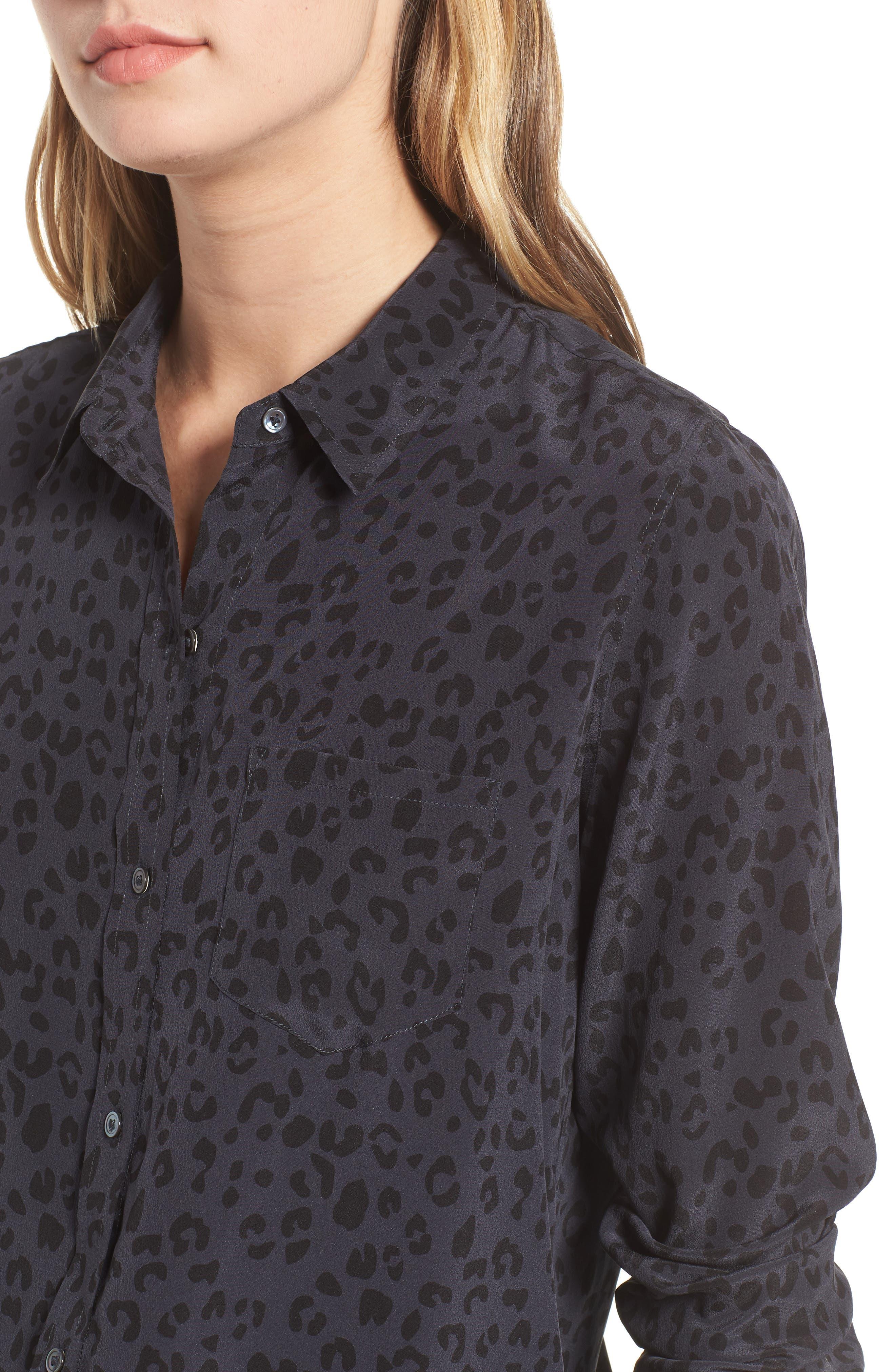 Kate Print Shirt,                             Alternate thumbnail 64, color,