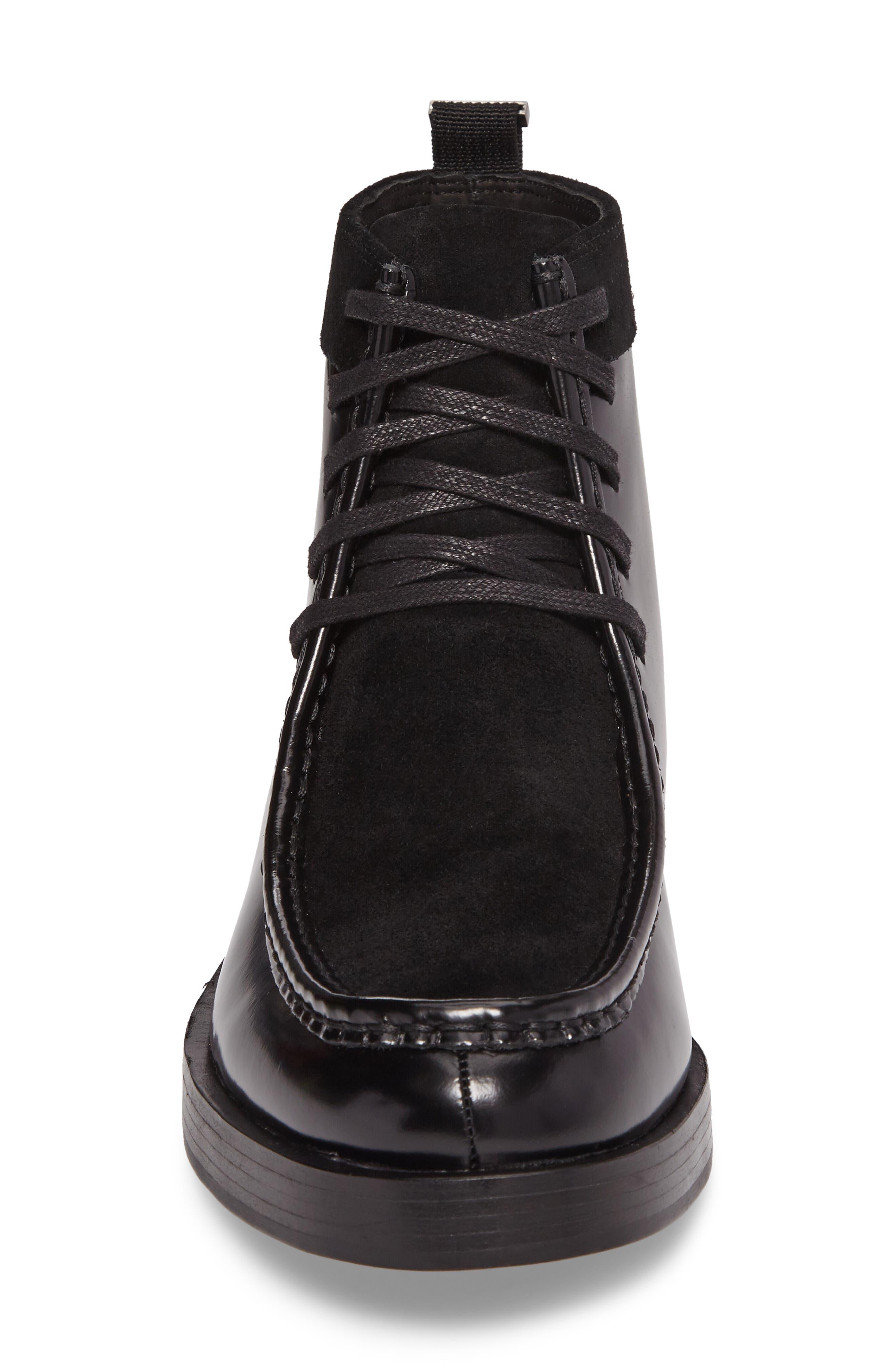 Rafi Moc Toe Boot,                             Alternate thumbnail 4, color,                             001