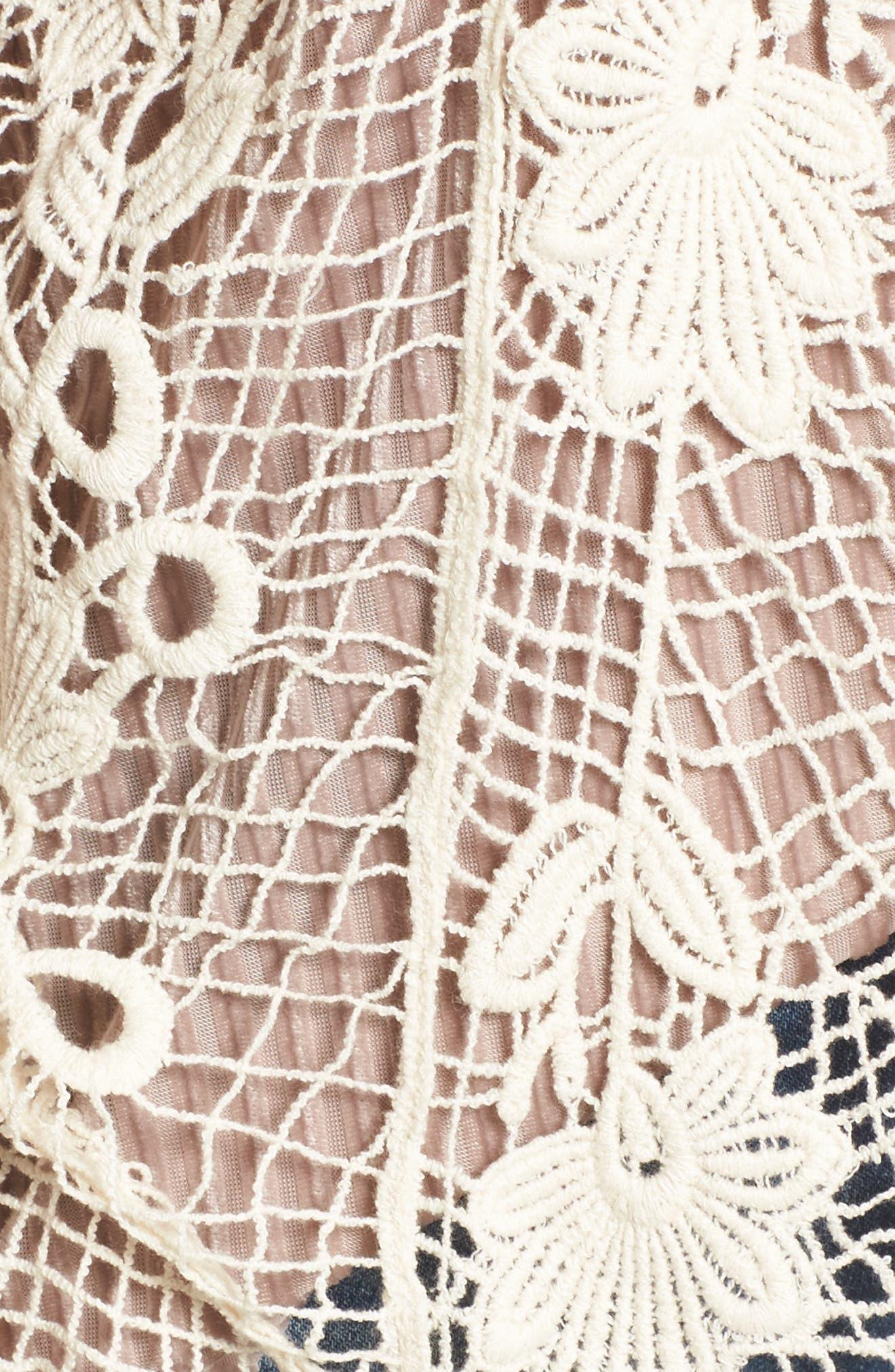 Crochet Cotton Vest,                             Alternate thumbnail 5, color,                             900