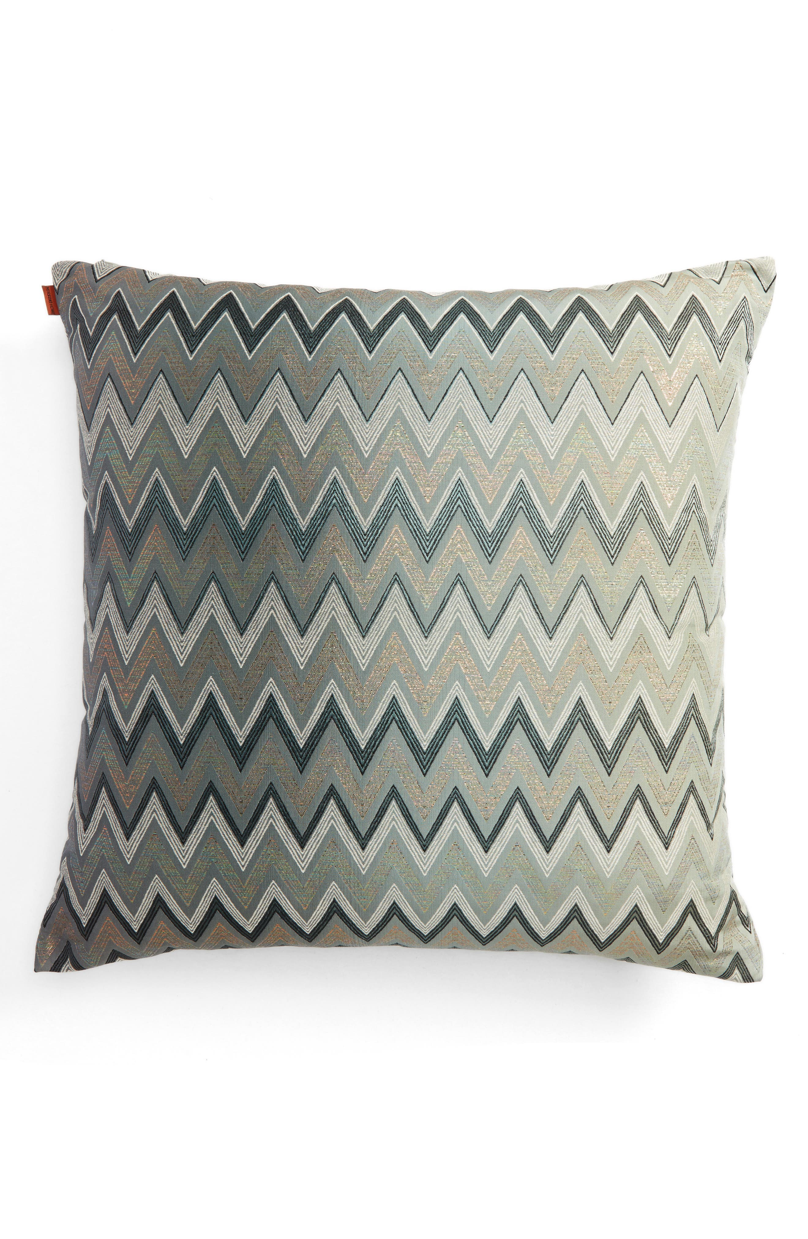 Taipei Accent Pillow,                             Main thumbnail 1, color,                             MULTI BLUE