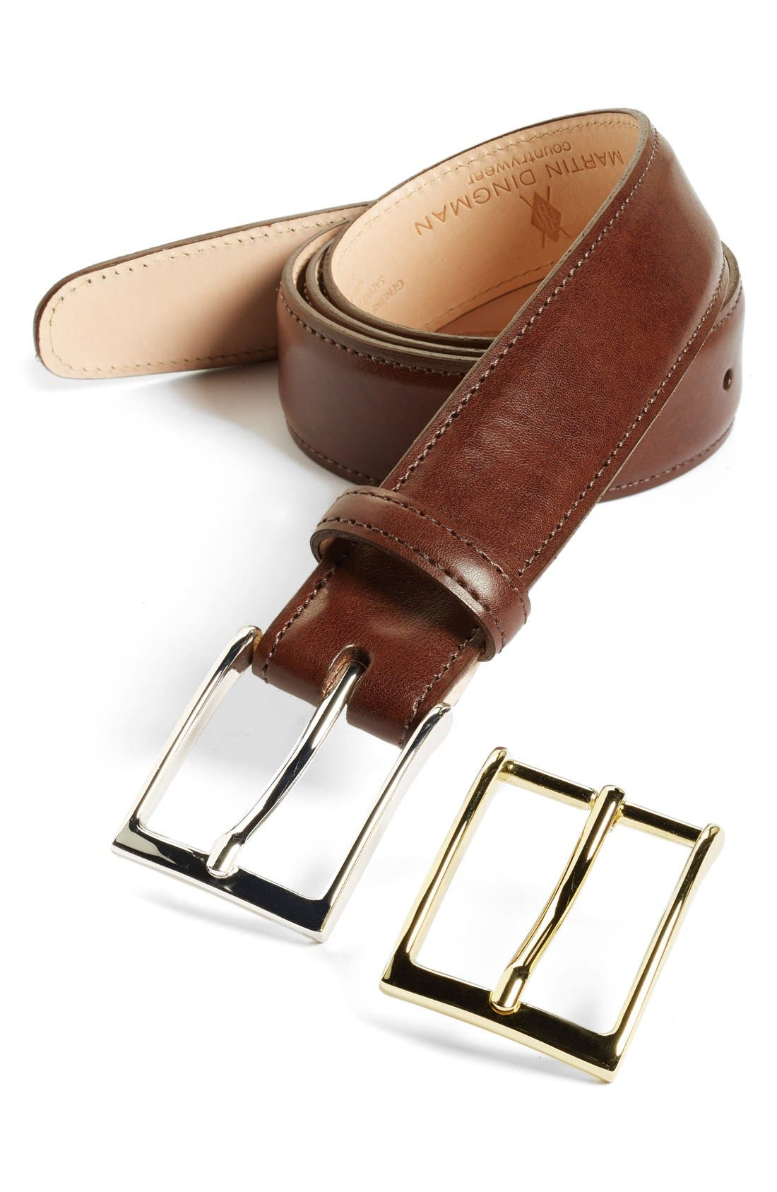 'Smith' Leather Belt,                             Main thumbnail 1, color,                             214
